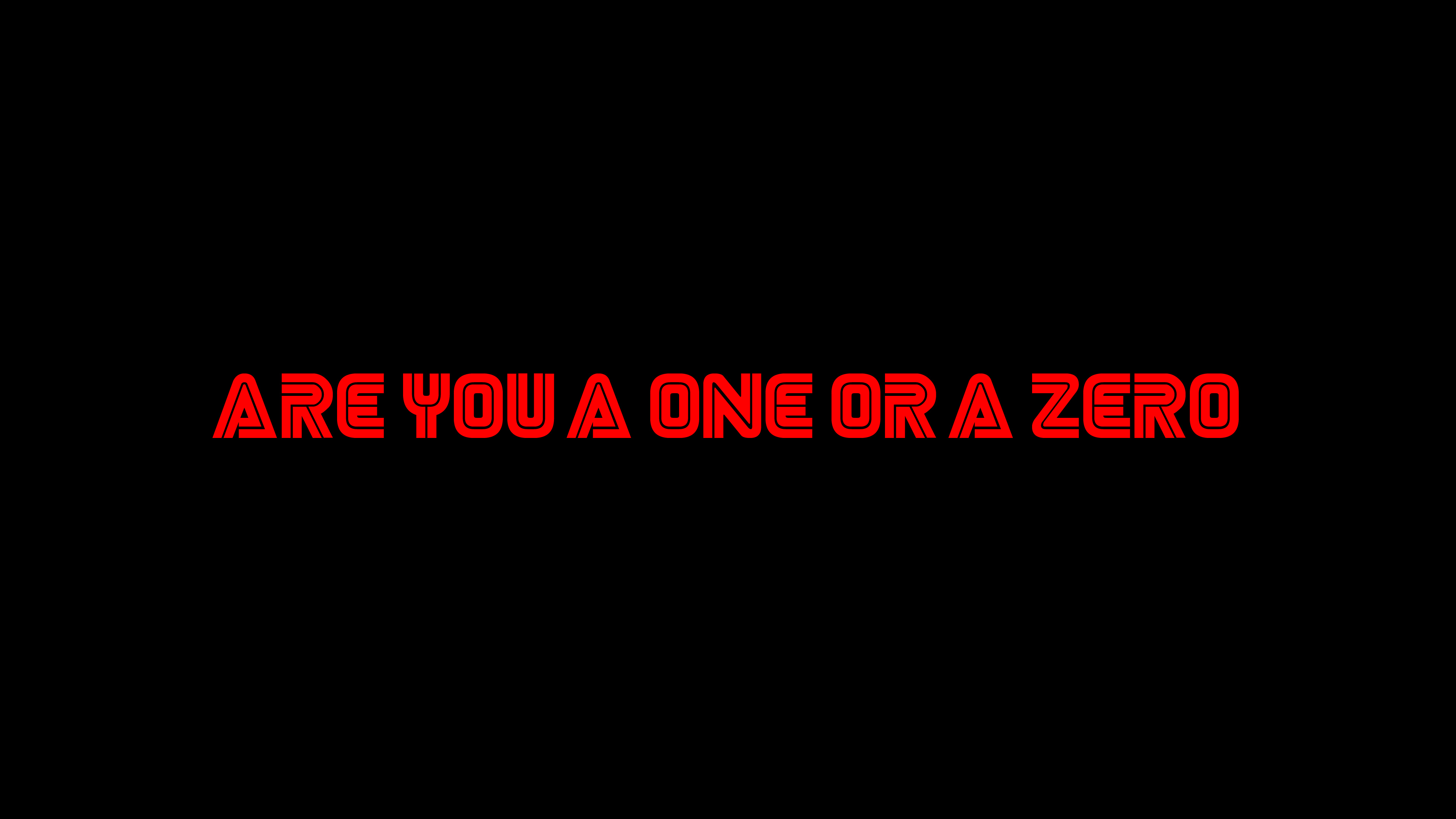are you a one or a zero mr robot typography 1577915108 - Are You A One Or A Zero Mr Robot Typography -