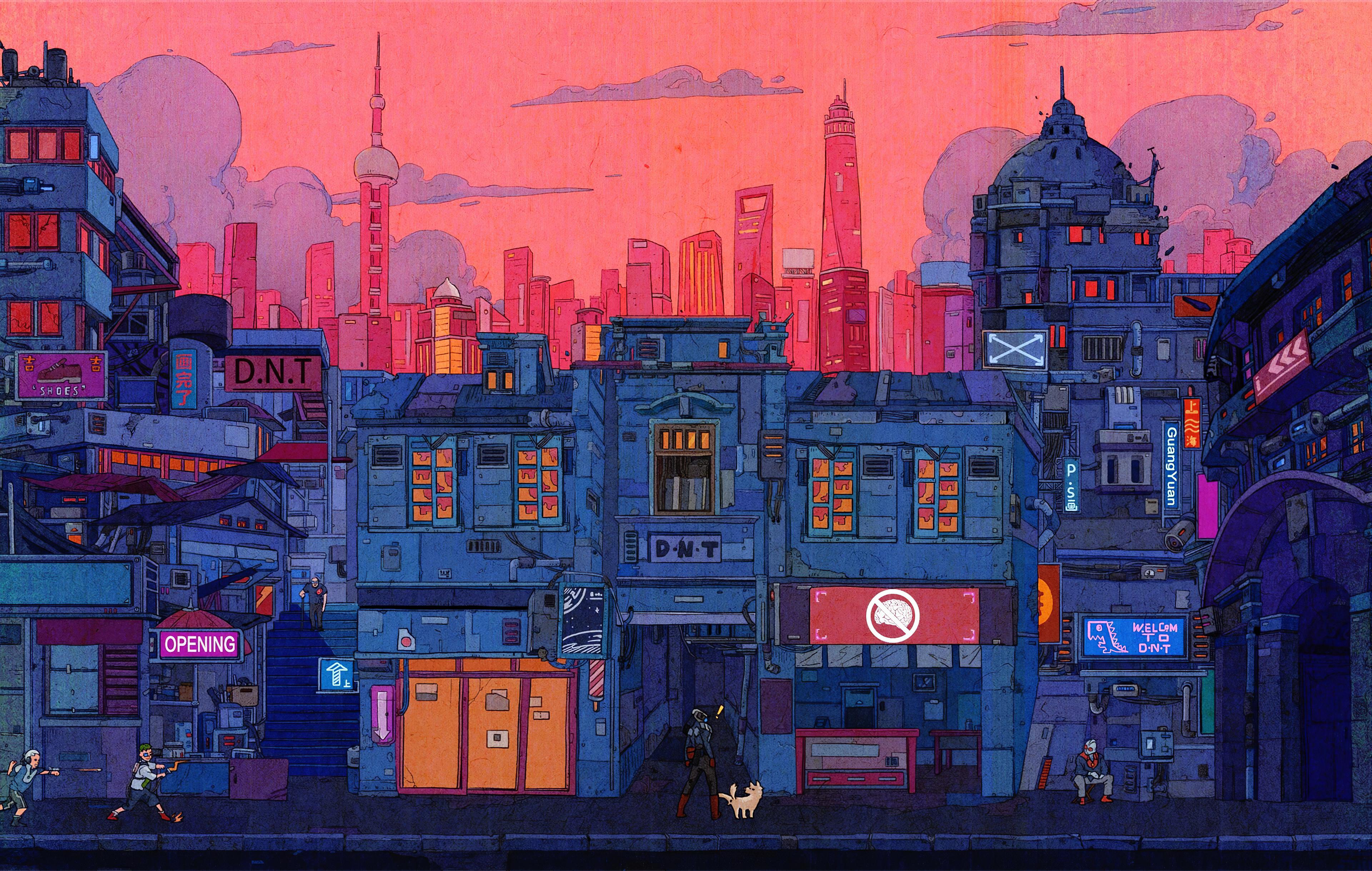 artistic cityscape 1578254730 - Artistic Cityscape -