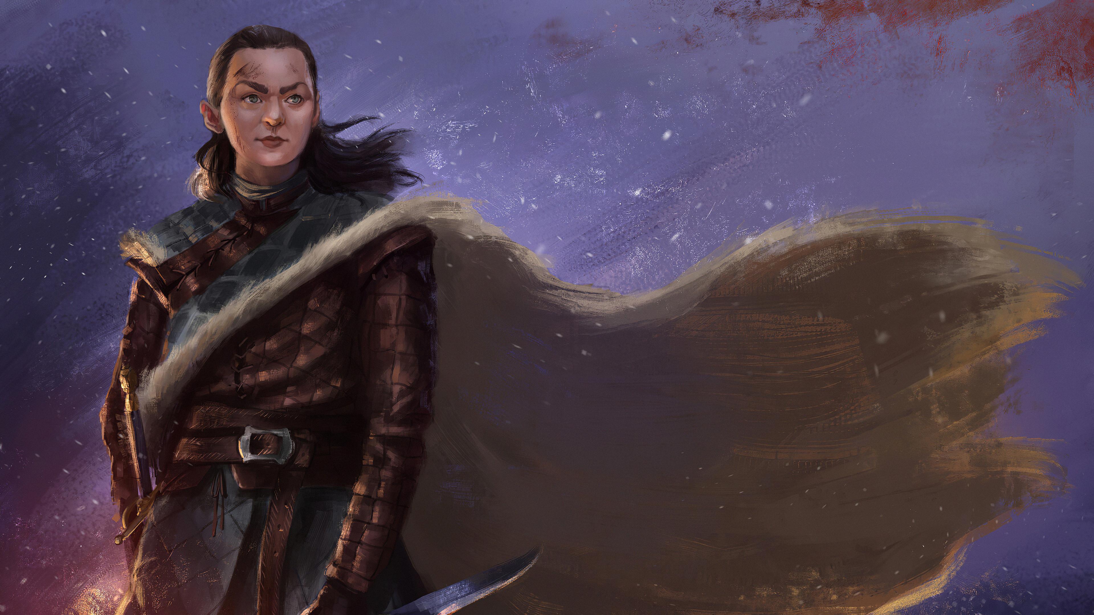 arya stark fan art 1578252734 - Arya Stark Fan Art -