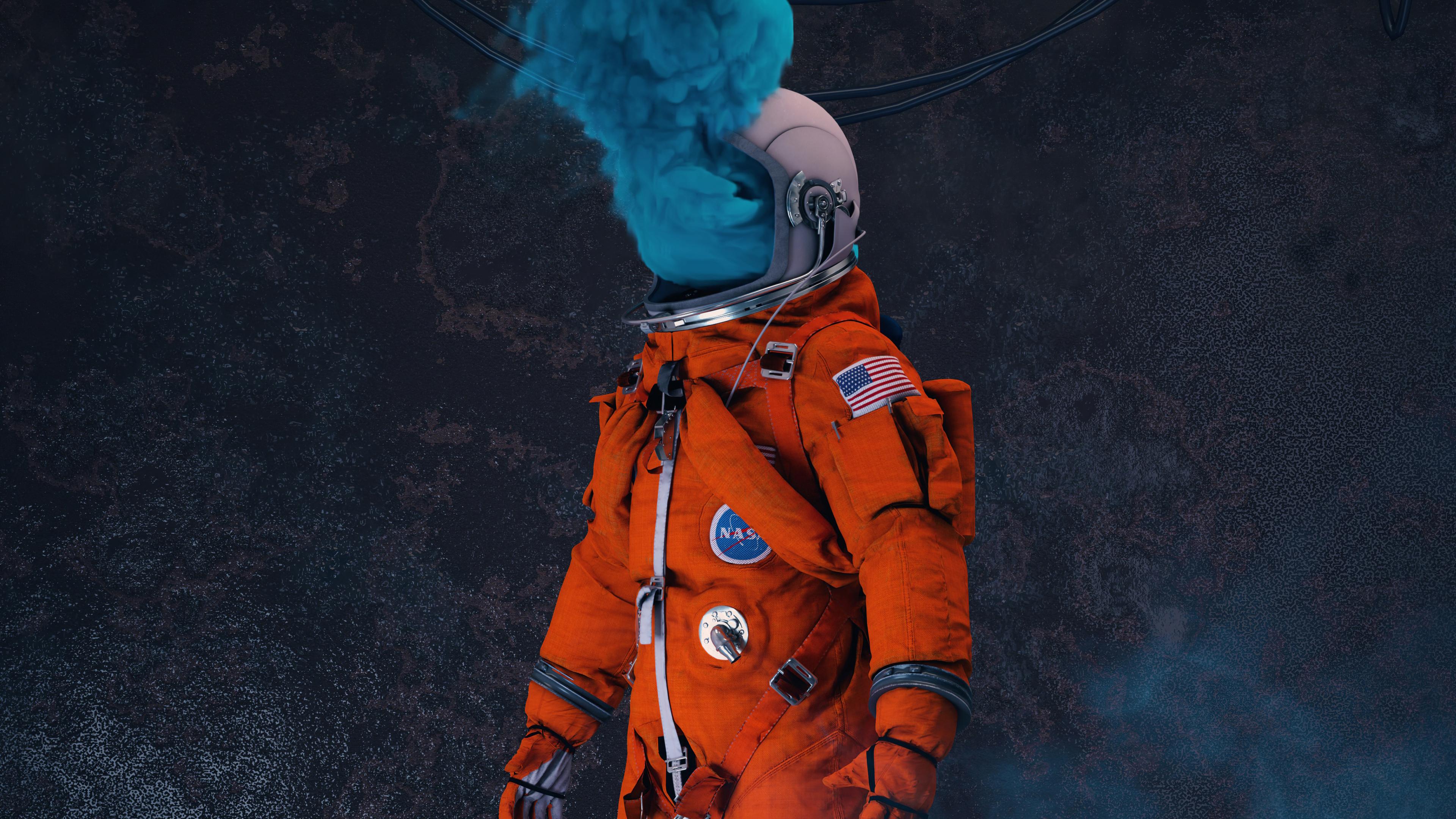 Wallpaper 4k Astronaut Nasa Take Me Away