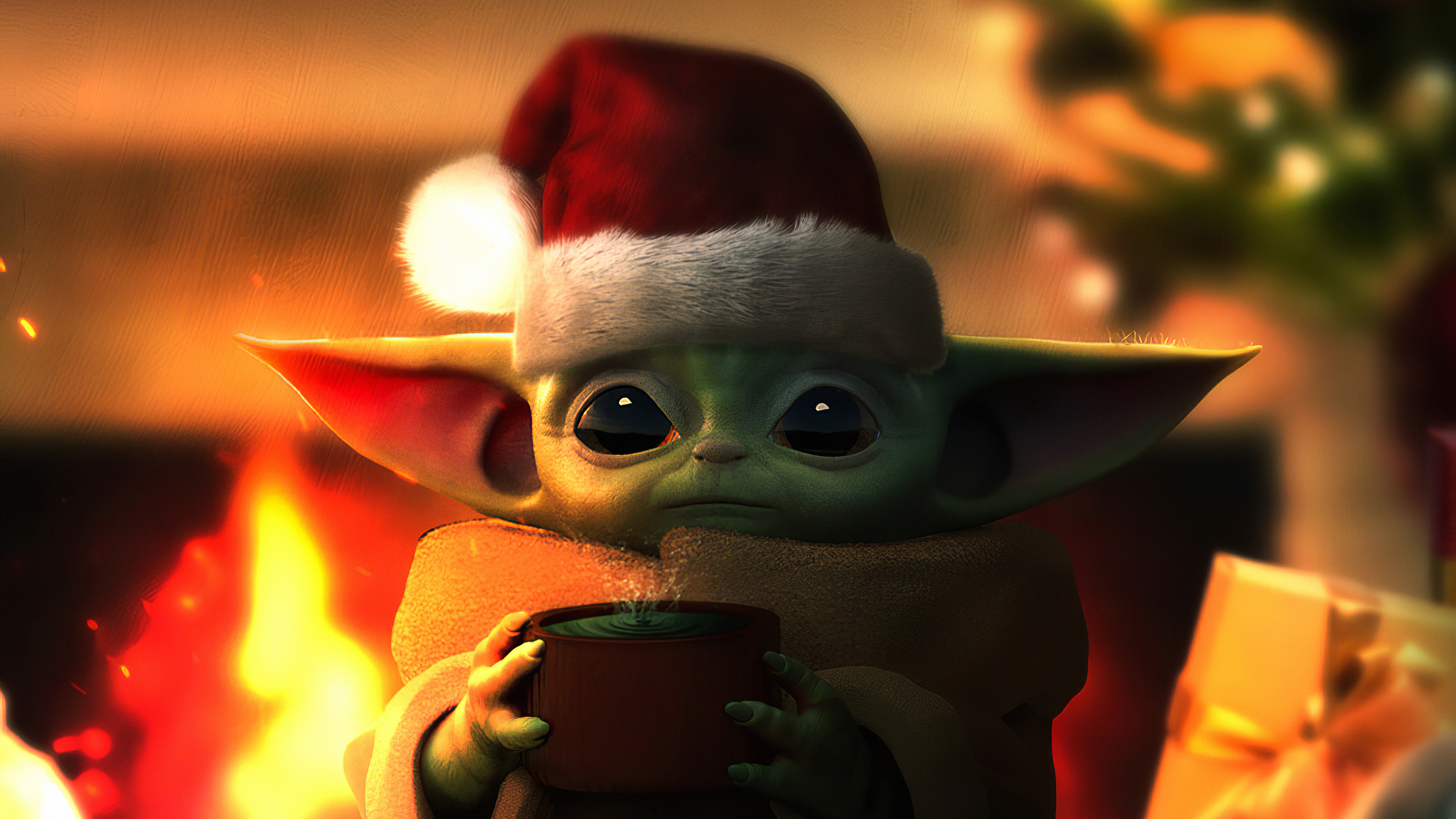 baby yoda christmas 1580056137 - Baby Yoda Christmas - Baby Yoda wallappers, Baby Yoda 4k wallpapers, Baby Yoda 2020 wallpapers