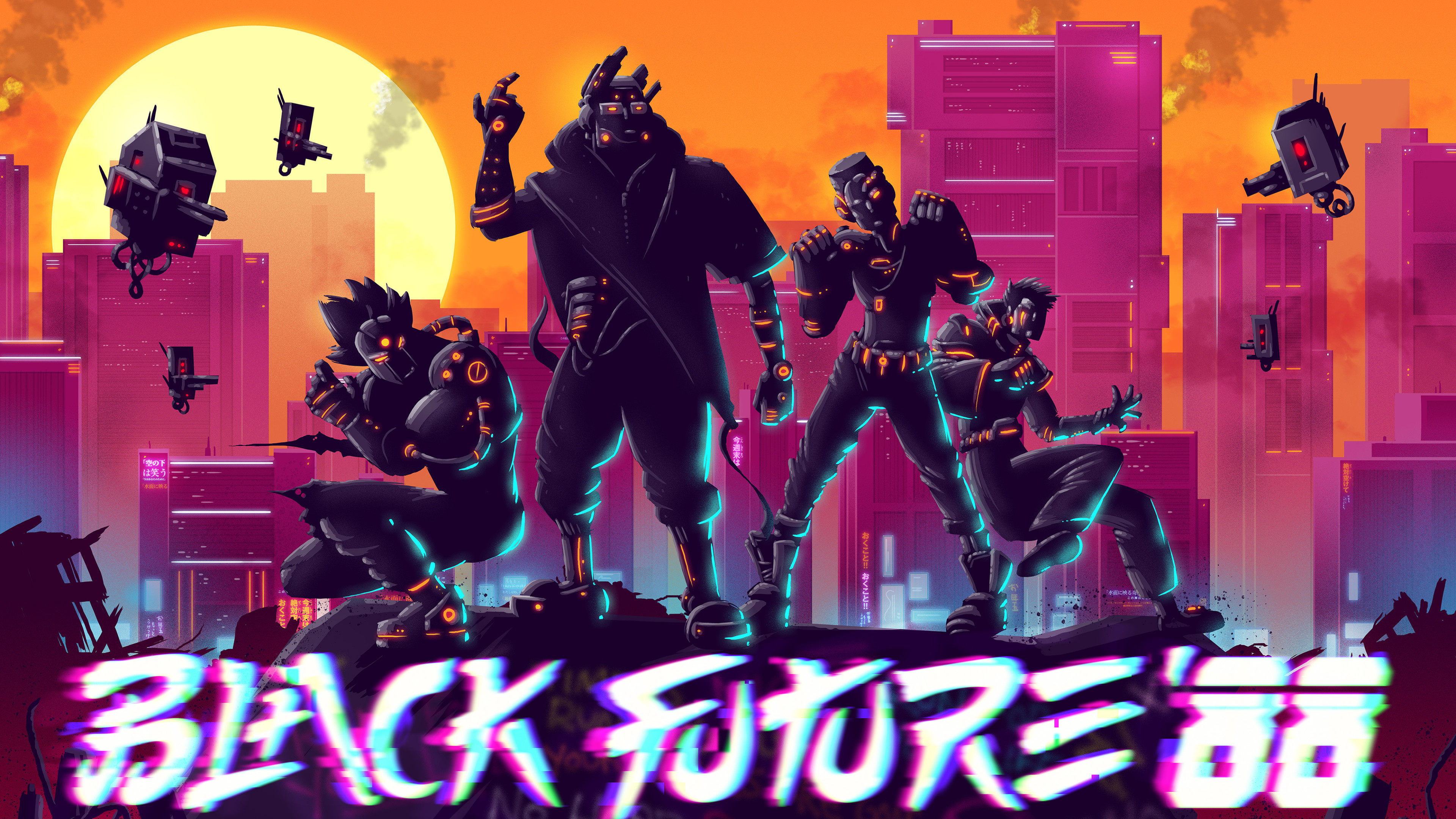 black future 88 di 3840x2160 1 - Black Future 88 - Black Future 88 game wallpaper 4k, Black Future 88 4k wallpaper
