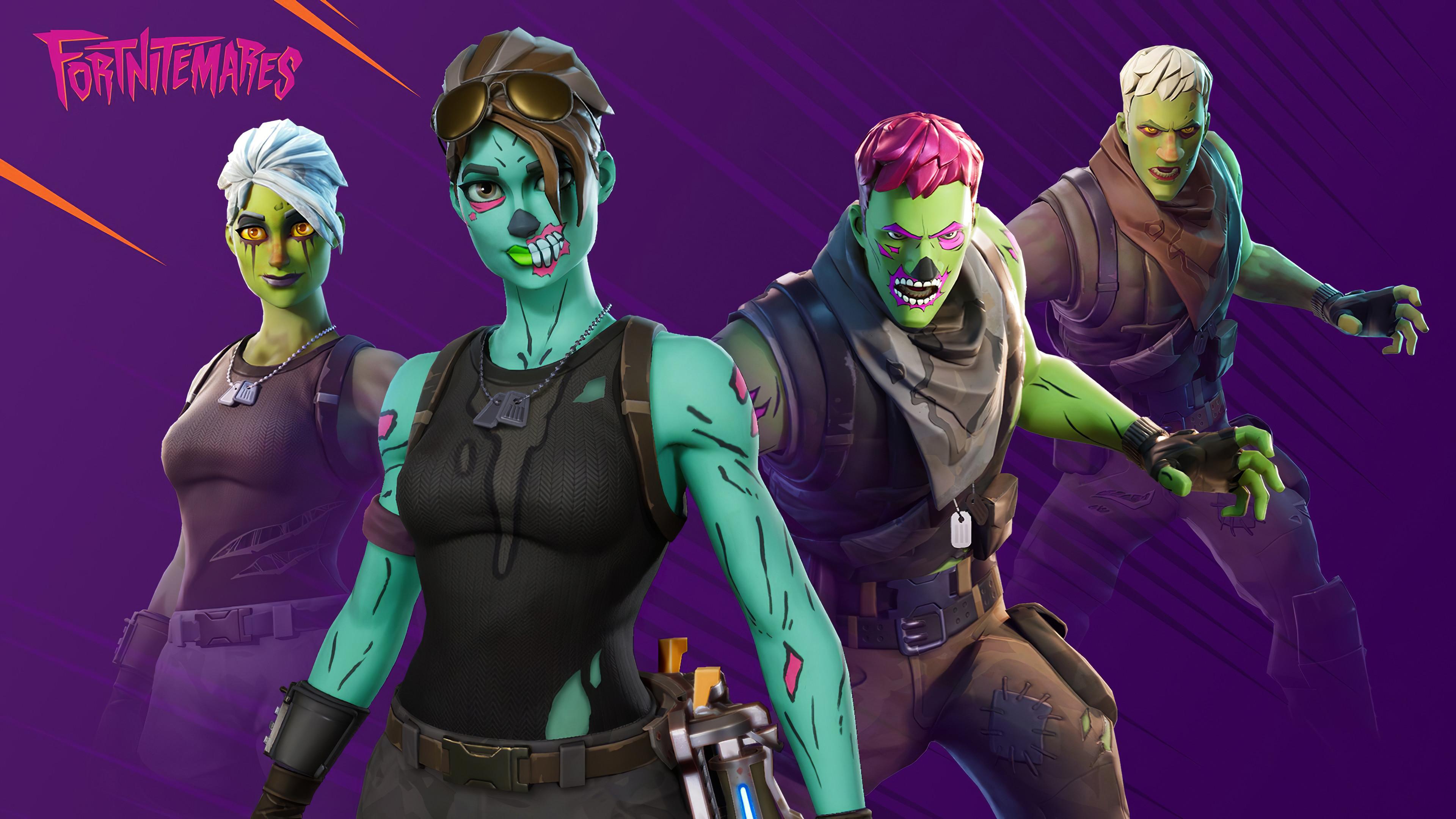 brainiac and ghoul trooper fortnite 4k 3x 3840x2160 1 - Brainiac And Ghoul Trooper Fortnite - Brainiac And Ghoul Trooper Fortnite 4k wallpaper