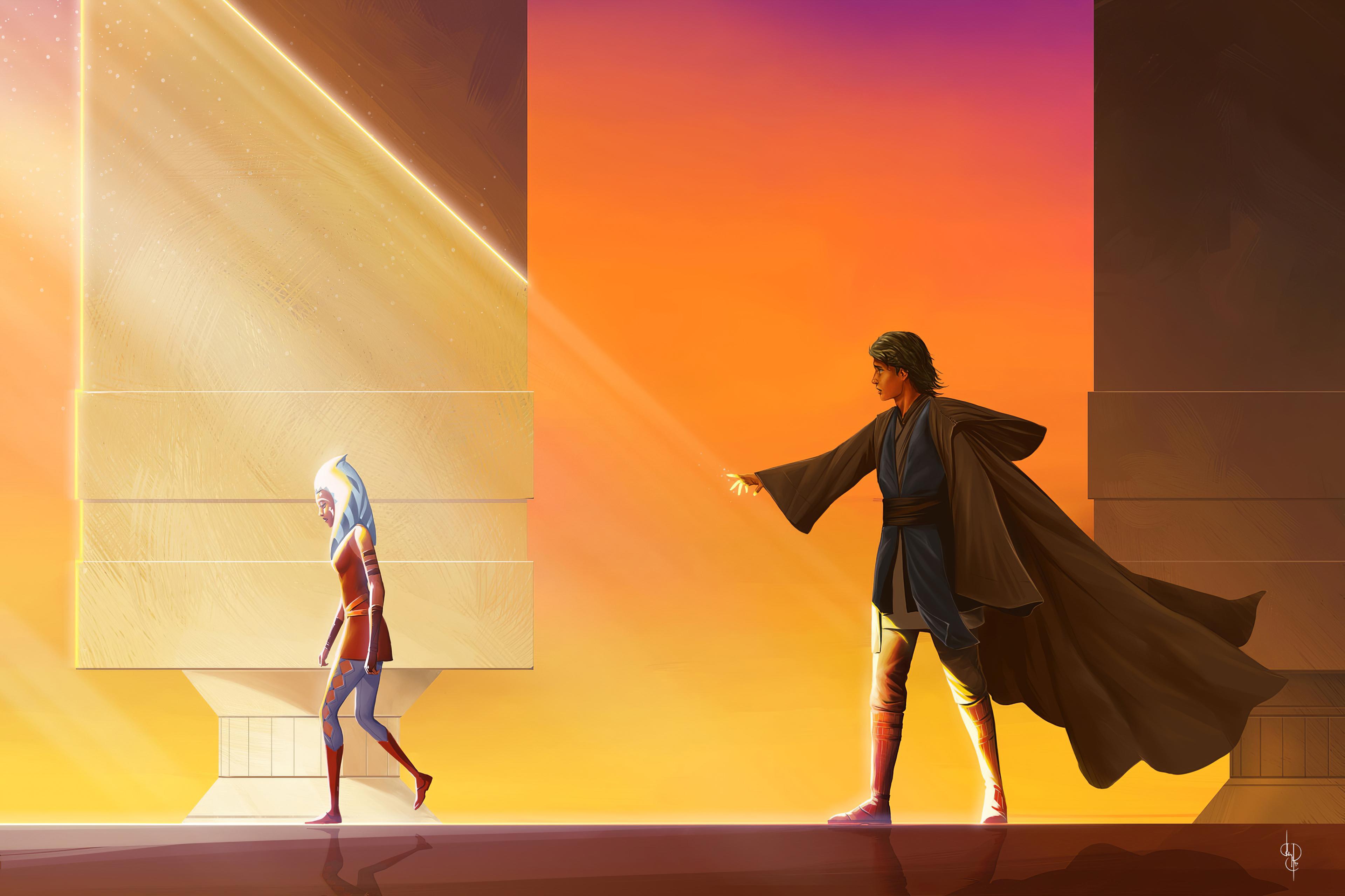Captain Rex And Ahsoka Star Wars