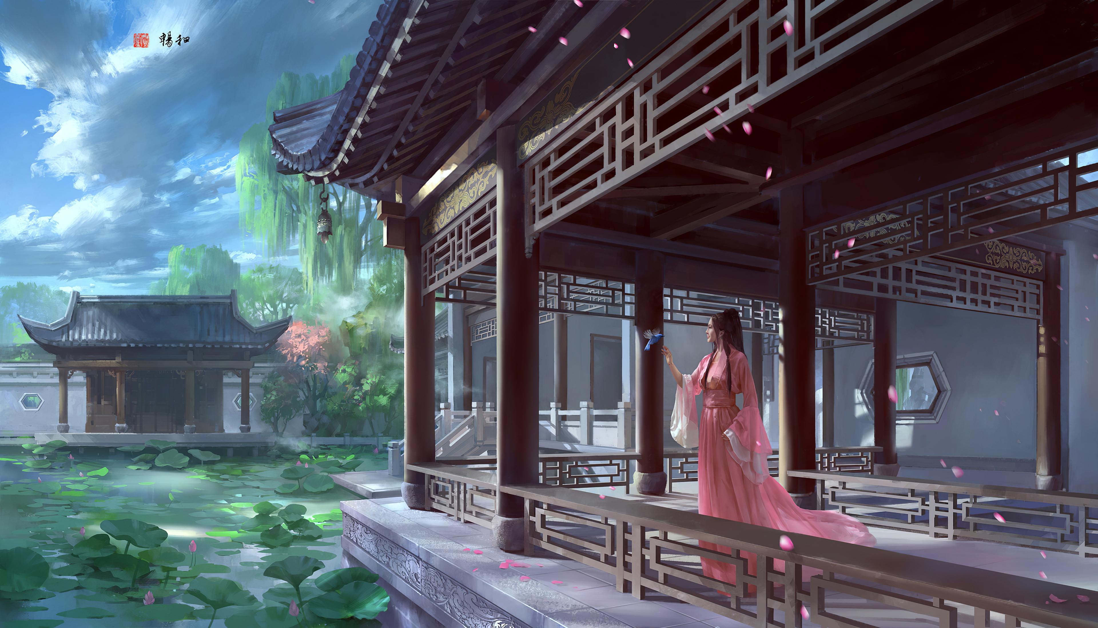 chinese dress girl 1578254971 - Chinese Dress Girl -
