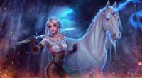 ciri with horse art hr 3840x2160 1 200x110 - Ciri With Horse Fan Art - Ciri With Horse Fan Art 4k wallpaper