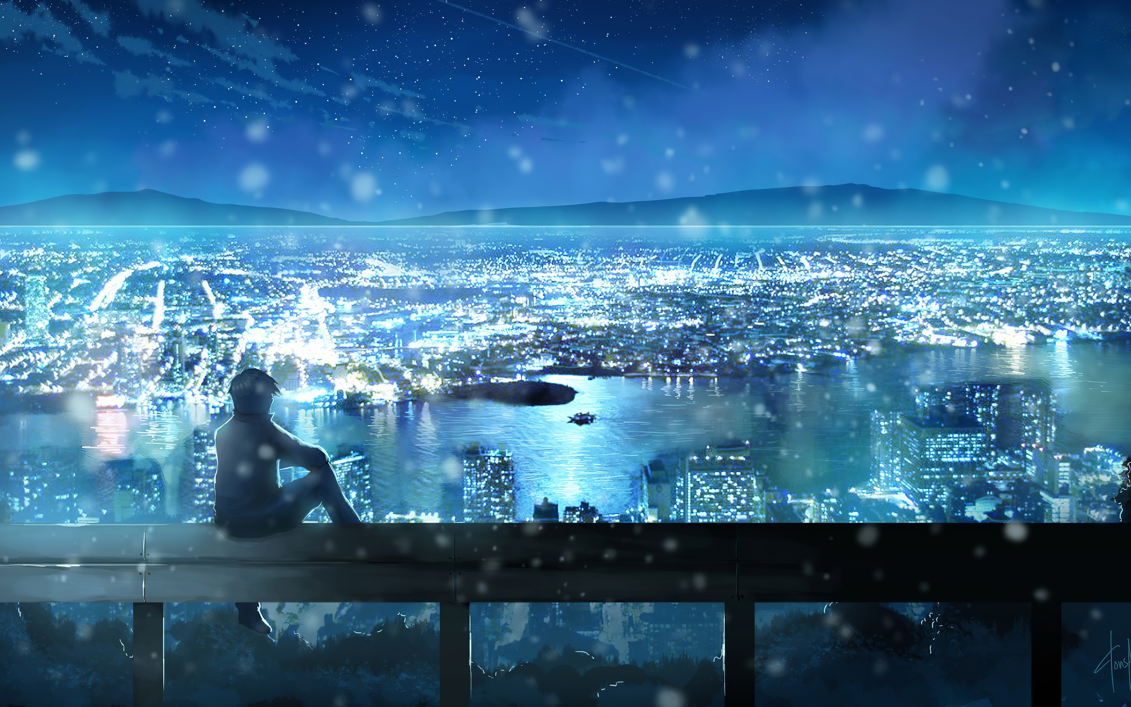 city looks nice from here anime 1578254337 - City Looks Nice From Here Anime -