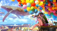 colorful city anime girl blowing bubbles 1578253719 200x110 - Colorful City Anime Girl Blowing Bubbles -