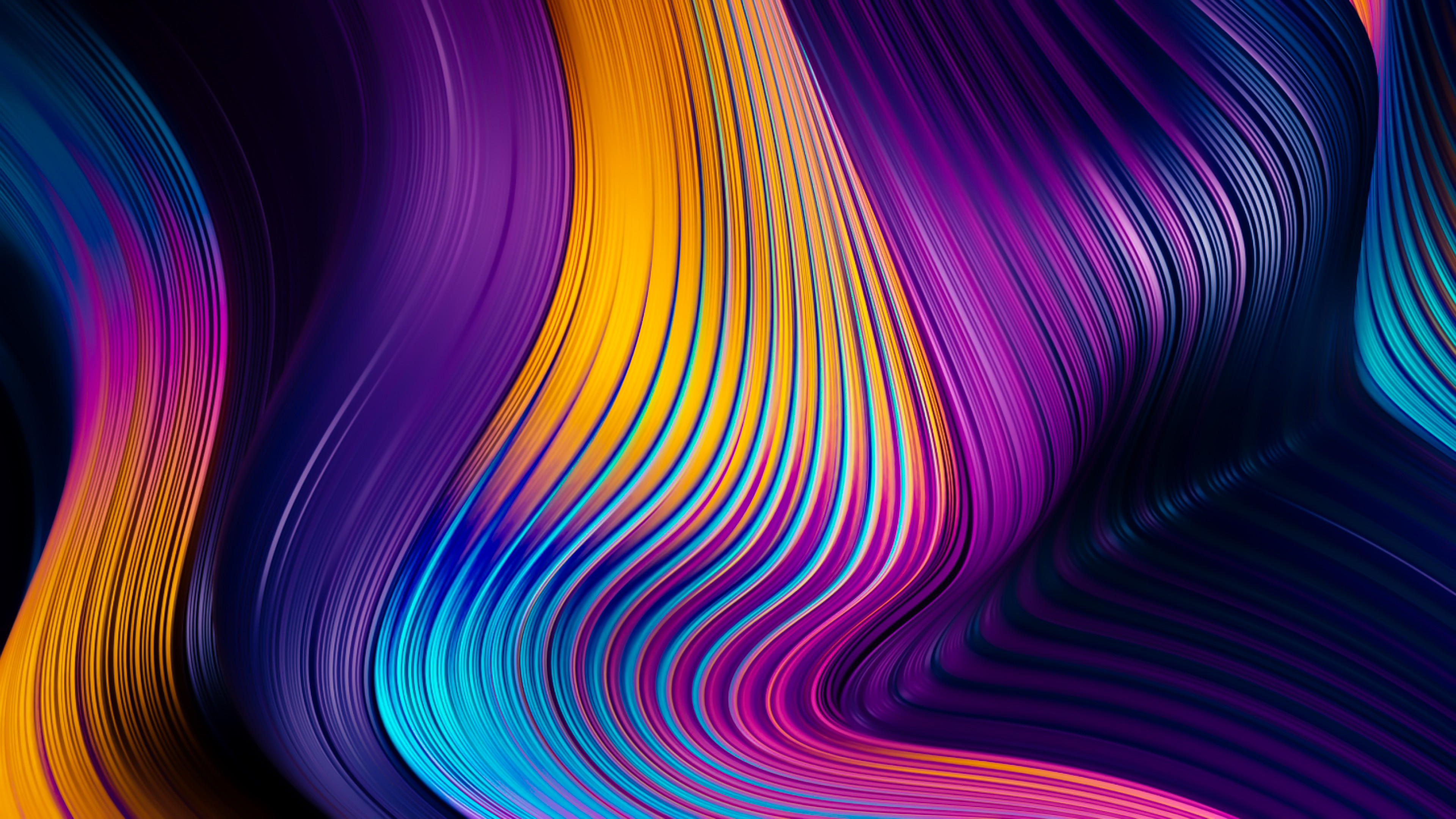 colors falling from top abstract 4k fq 3840x2160 1 - Colors Falling From Top Abstract -