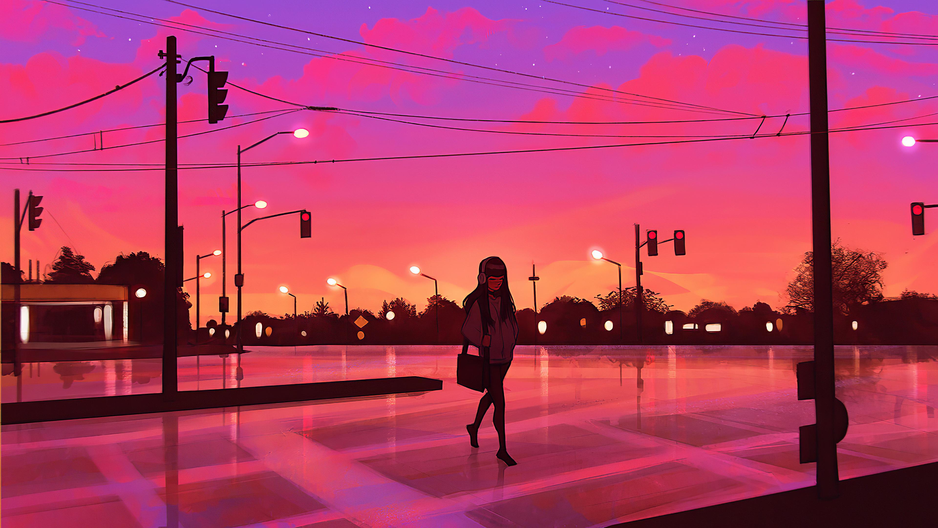 crosswalk dark evening 1578254245 - Crosswalk Dark Evening -