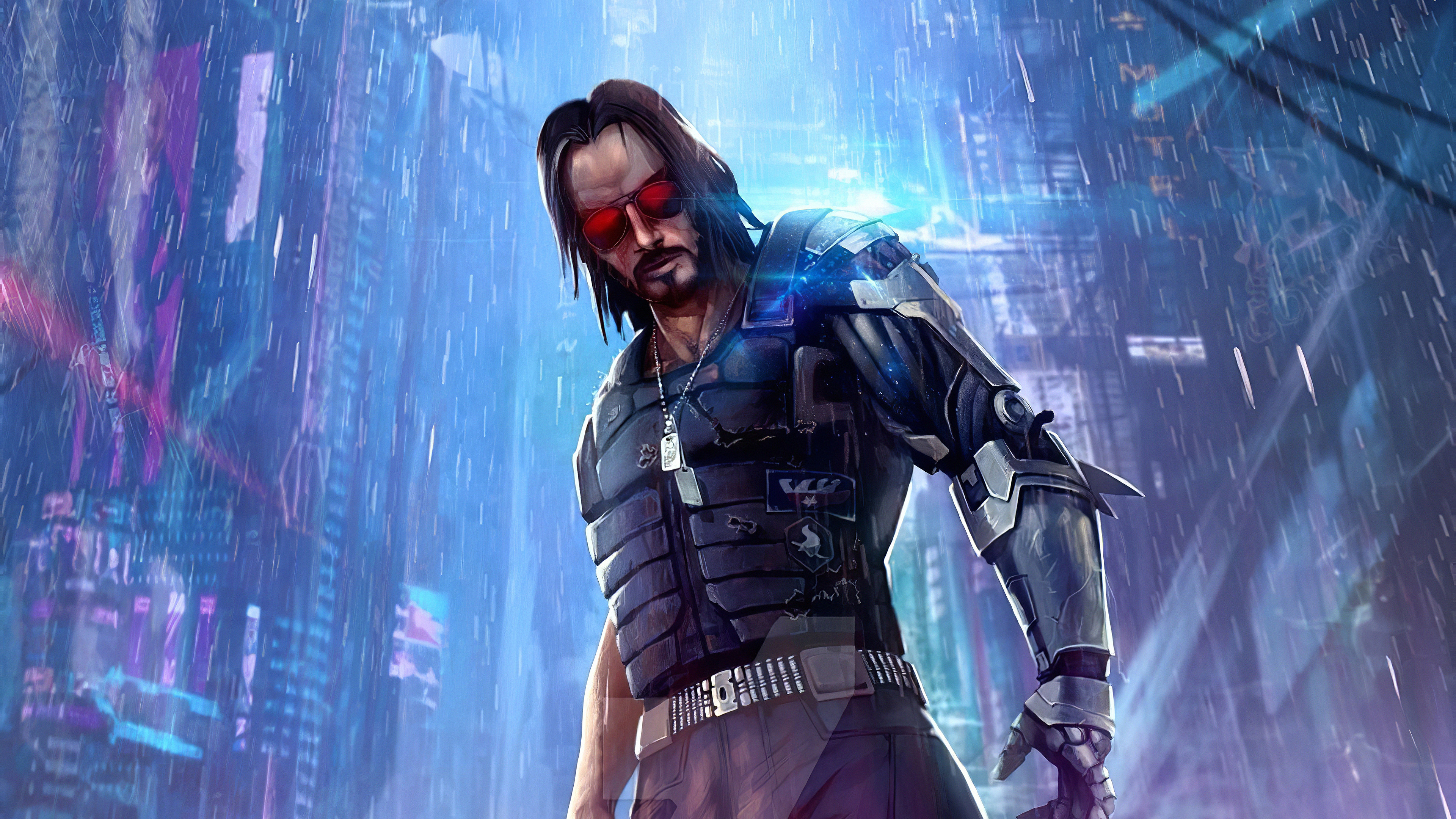 cyberpunk 2077 keanu js 3840x2160 1 - Cyberpunk 2077 Keanu Reeves Art - Cyberpunk 2077 Keanu Reeves wallpapers, Cyberpunk 2077 Keanu Reeves Art 4k wallpaper