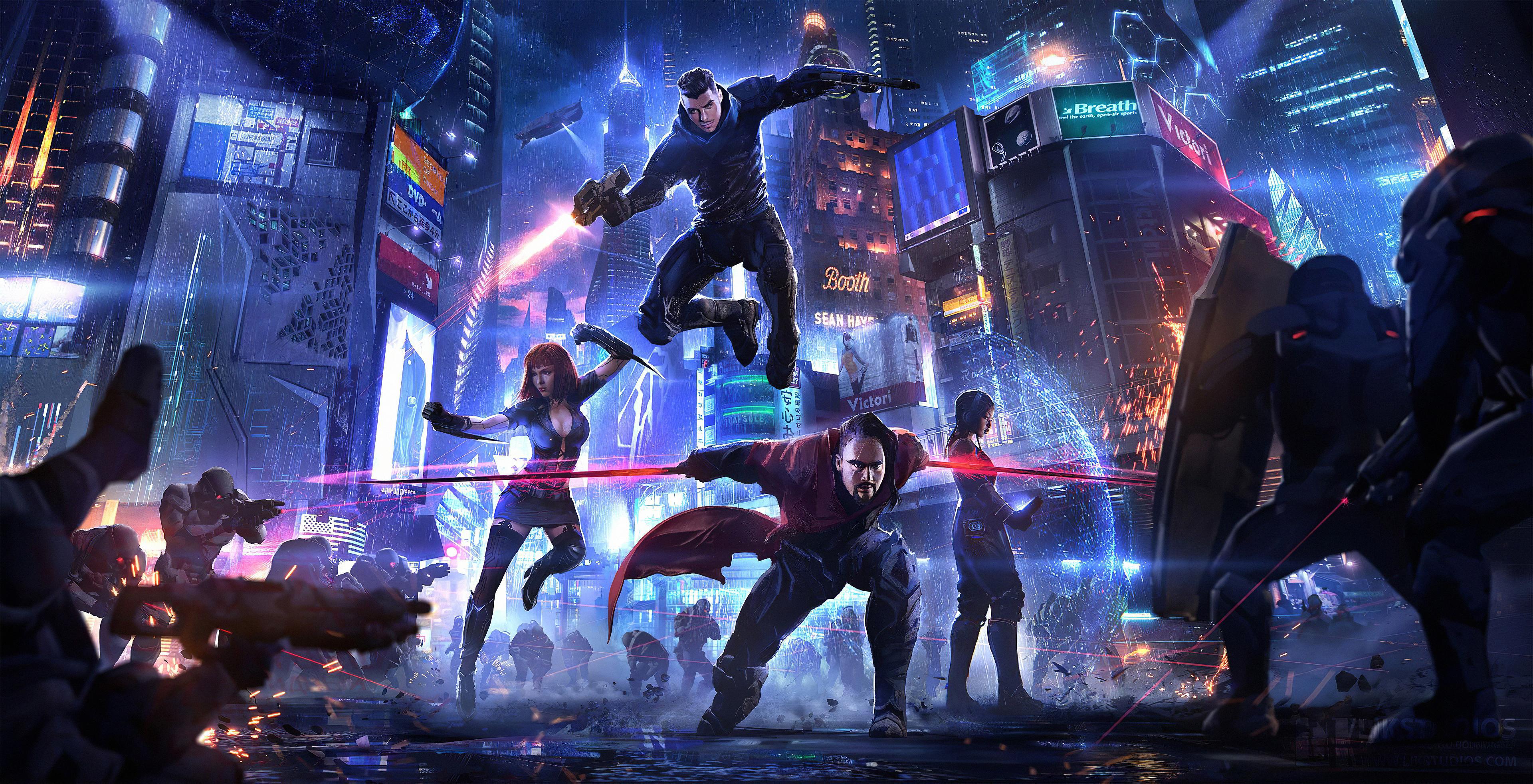 cyberpunk heroes 1578255466 - Cyberpunk Heroes -