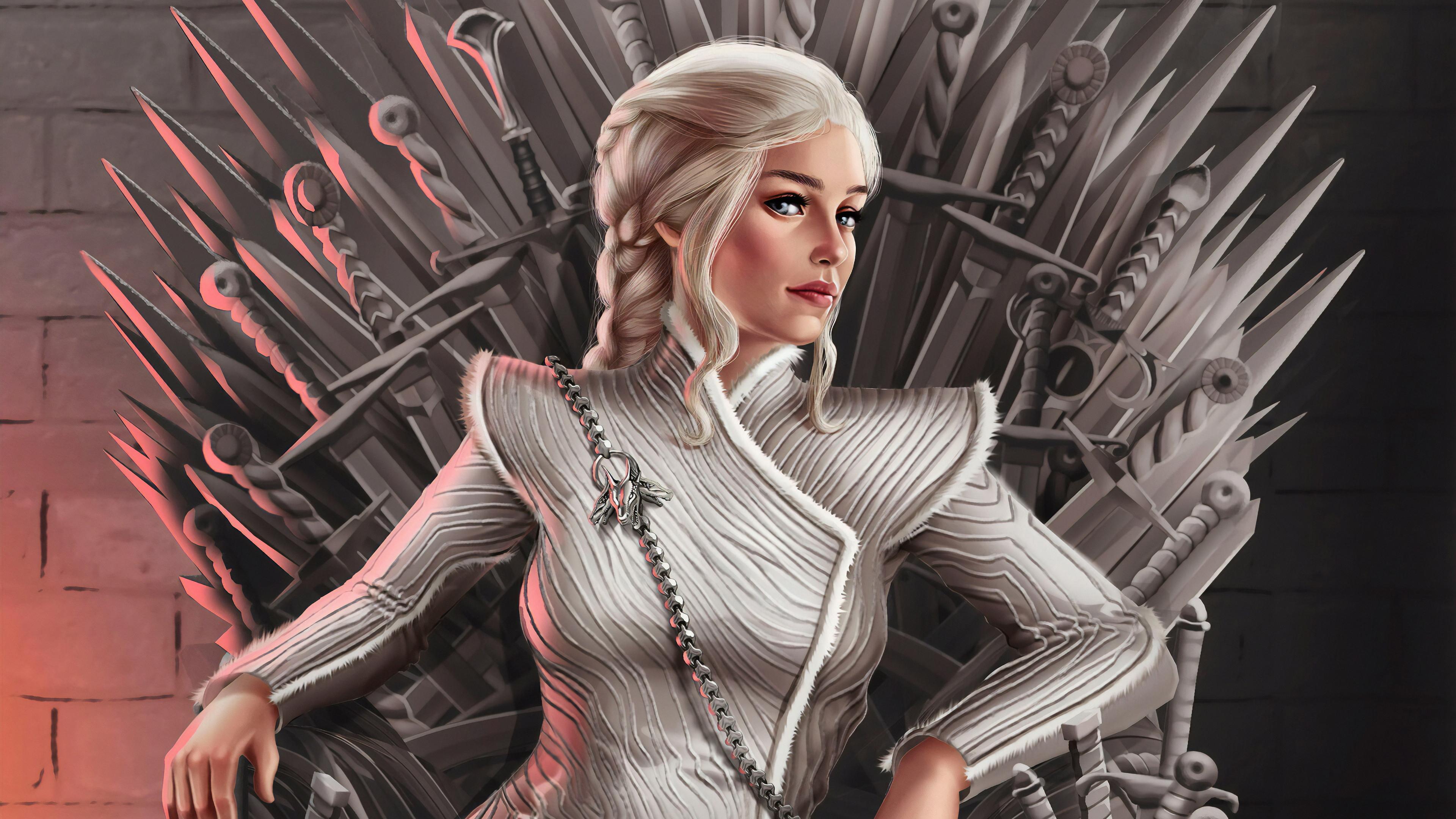 daenerys targaryen fan art 1578252534 - Daenerys Targaryen Fan Art -