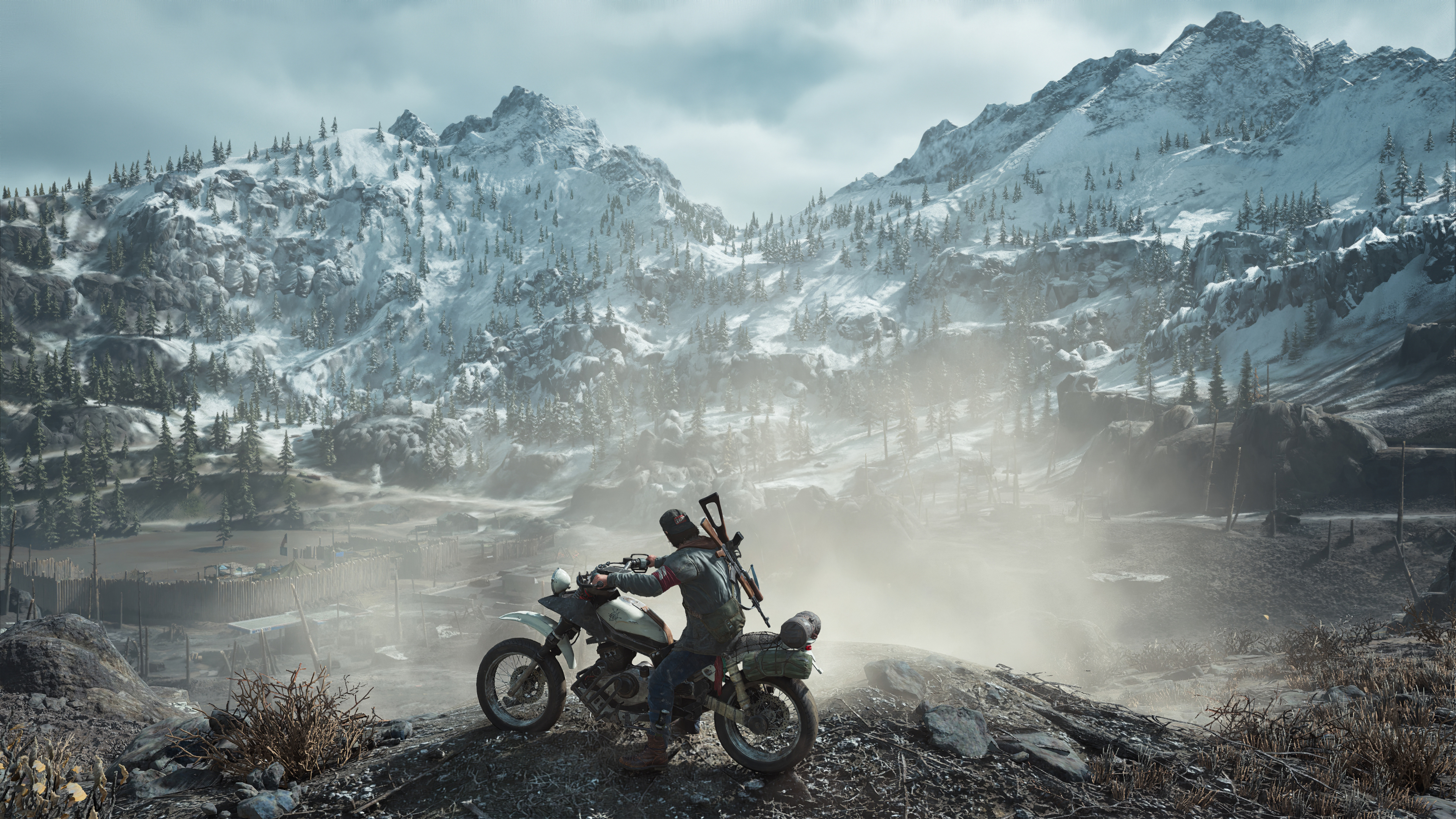 days gone biker 1578851379 - Days Gone Biker - Days Gone Biker game 4k wallpaper