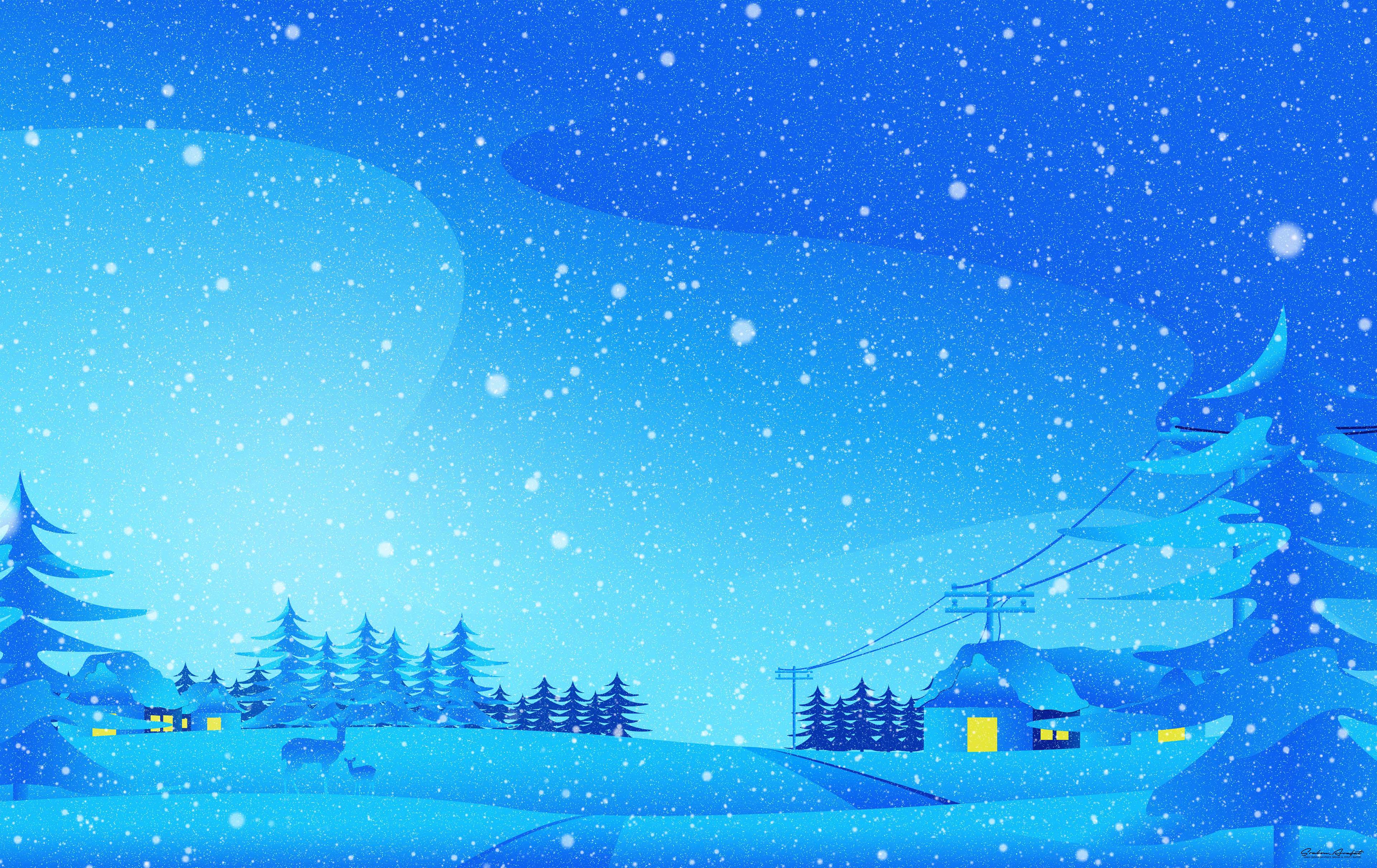 december winter digital art 1578254997 - December Winter Digital Art -