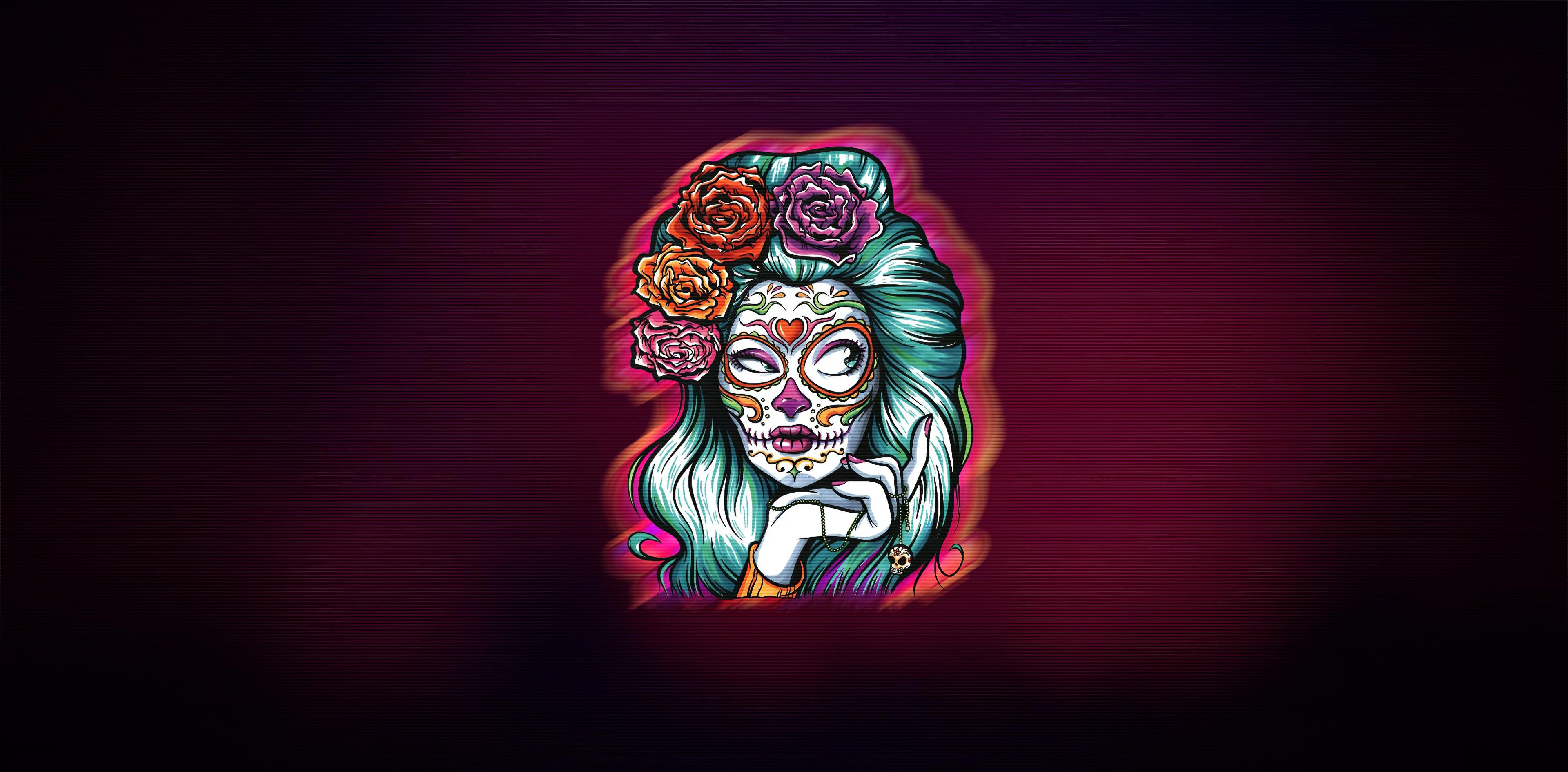 dia de los muertos minimal 1578255079 - Dia De Los Muertos Minimal -