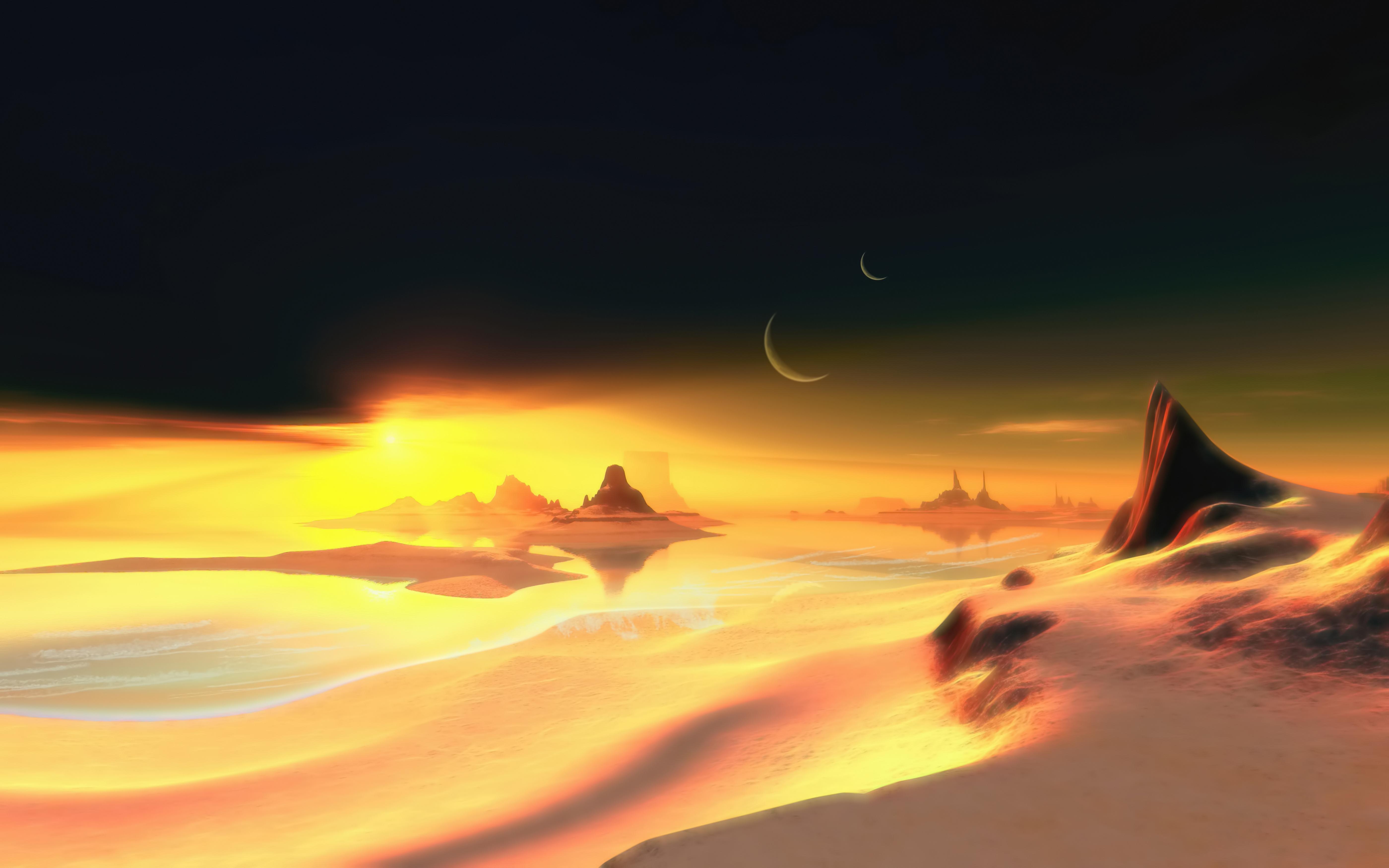 dune sea digital art 1578254989 - Dune Sea Digital Art -