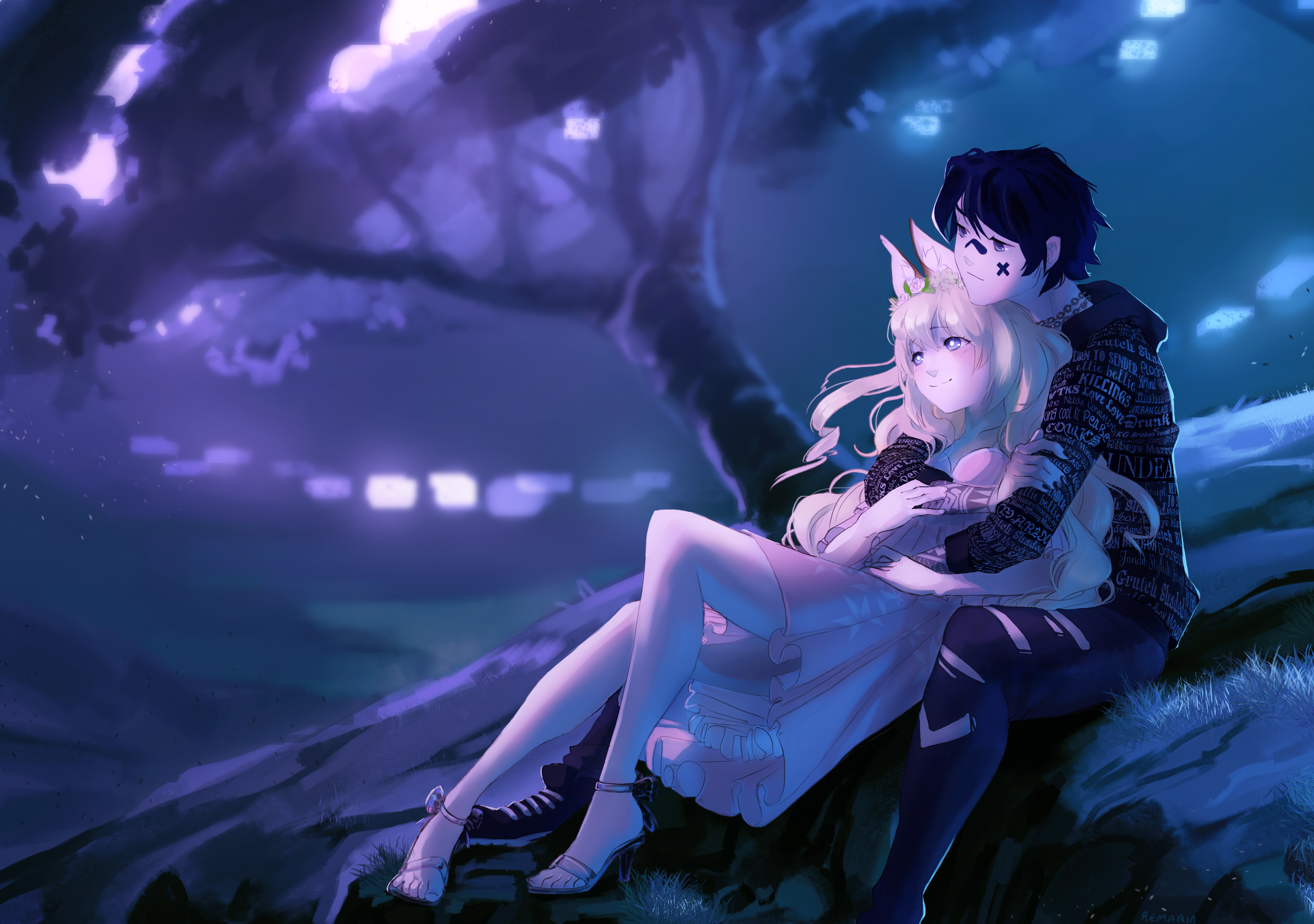 embraced and endeared anime couple 1578253832 - Embraced And Endeared Anime Couple -