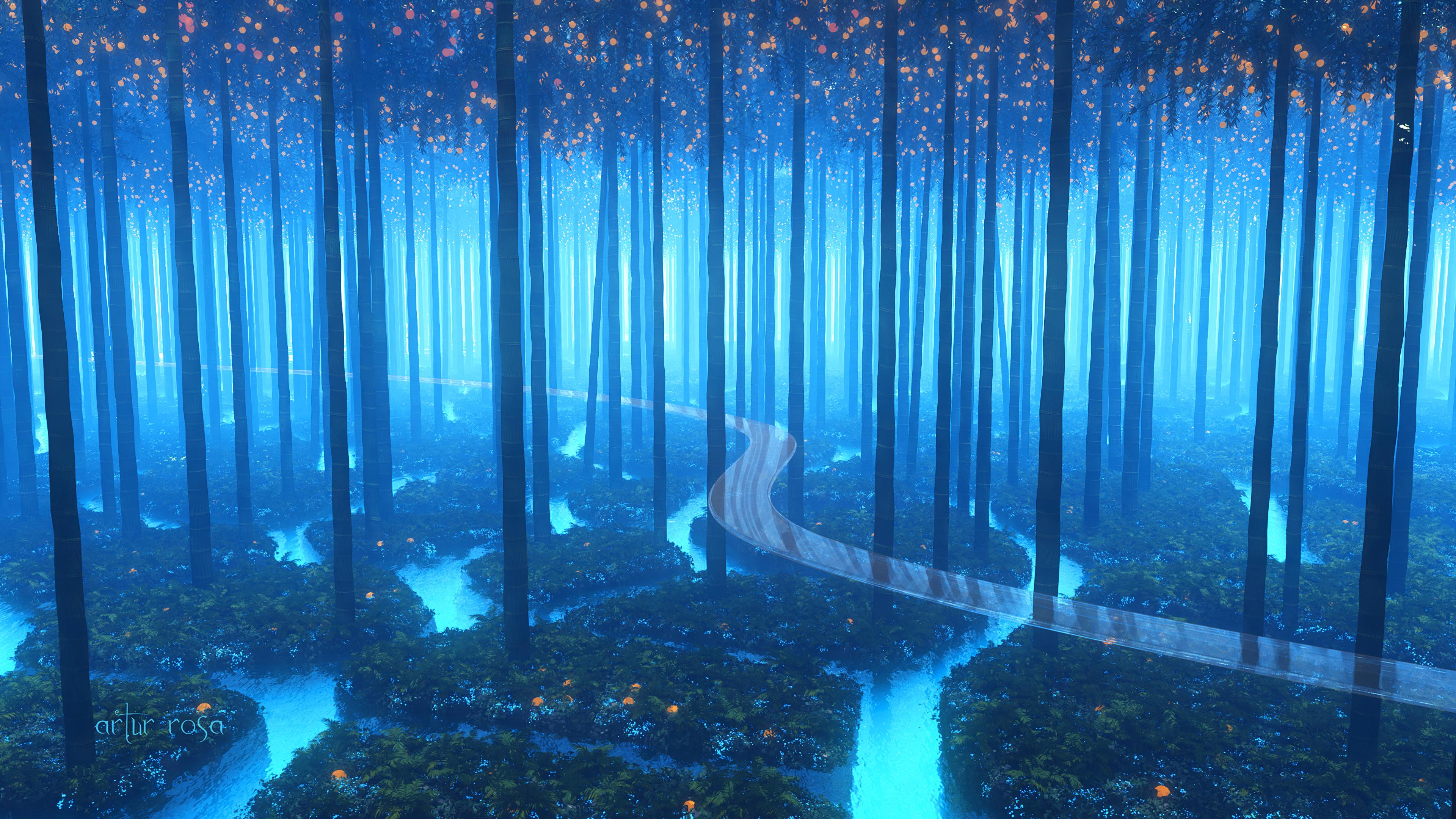 forest fresh breeze digital art 1578255374 - Forest Fresh Breeze Digital Art -