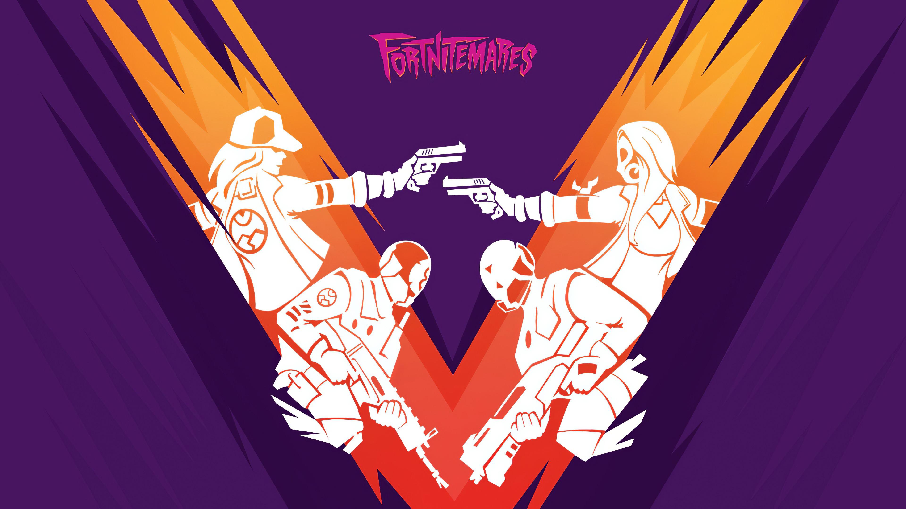 fortnitemares minimal 4k 05 3840x2160 1 - Fortnitemares Minimal - Fortnitemares wallpaper 4k, Fortnitemares Minimal 4k wallpaper