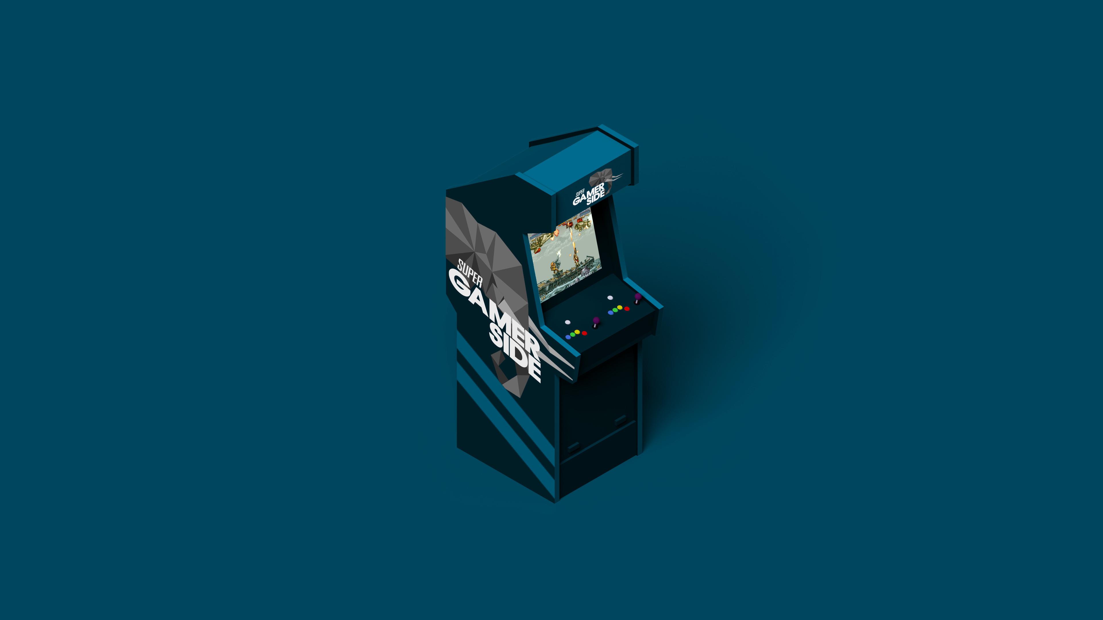 gamerside arcade gaming minimalist 4k ui 3840x2160 1 - Arcade Gaming Minimalist - Arcade Gaming Minimalist 4k wallpaper