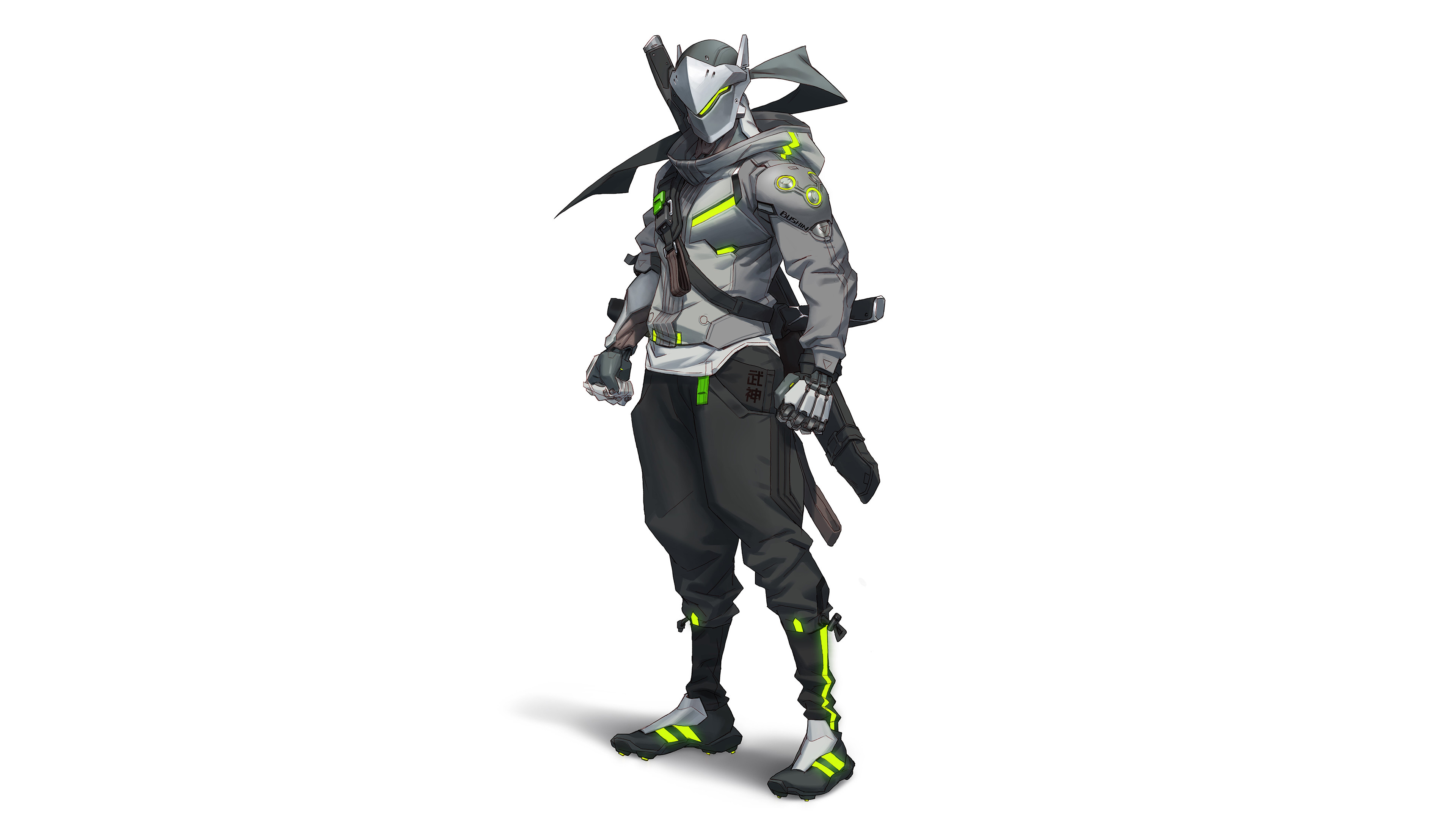 genji overwatch 2 sf 3840x2160 1 - Overwatch 2 :Genji - Overwatch genji wallpaper, Overwatch 2:Genji 4k wallpaper, Genji 4k wallpaper