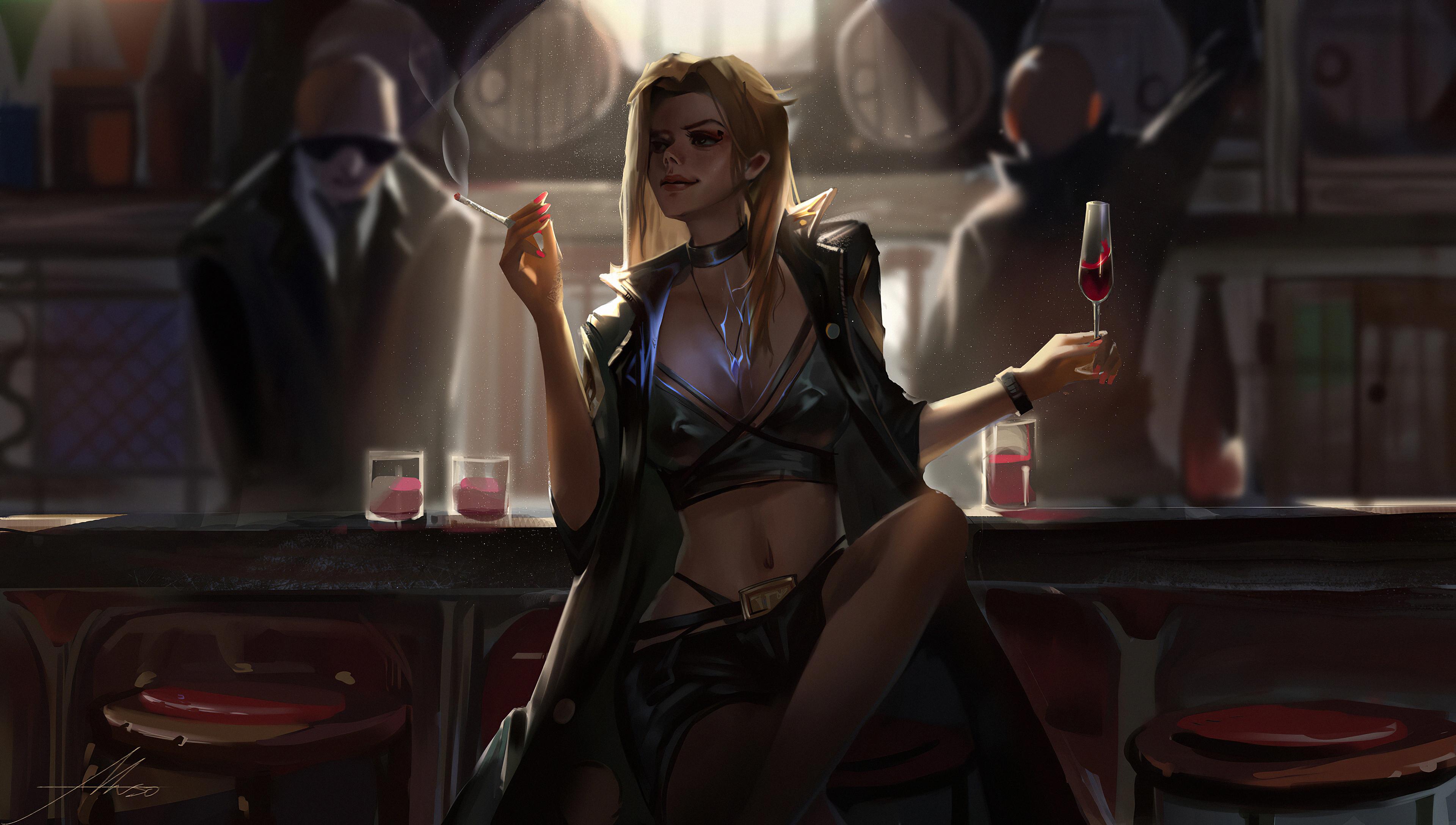 girl in bar smoking 1578254803 - Girl In Bar Smoking -