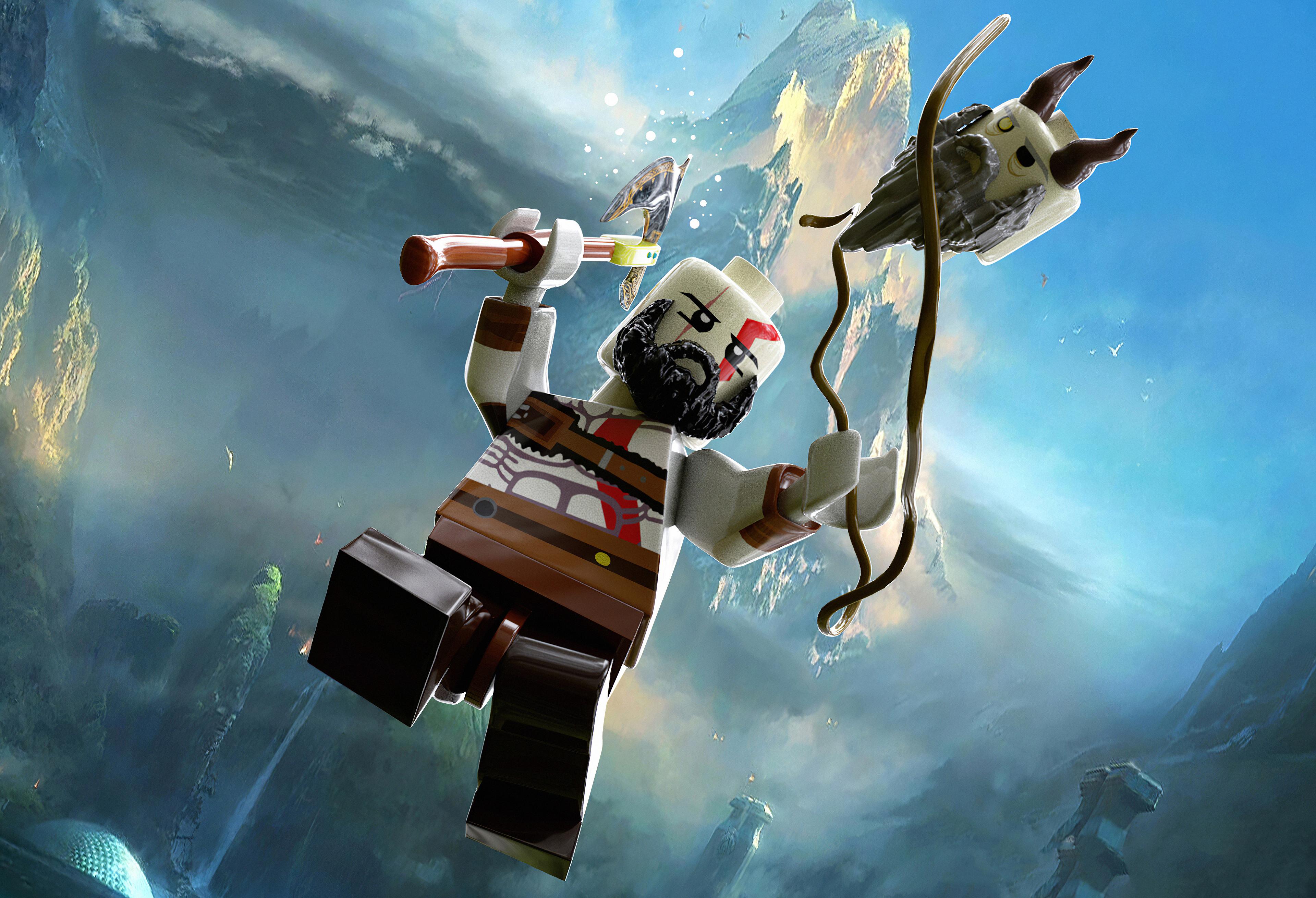 god of war kratos lego art 1578852148 - God Of War Kratos Lego Art - God Of War Kratos Lego Art 4k wallpaper