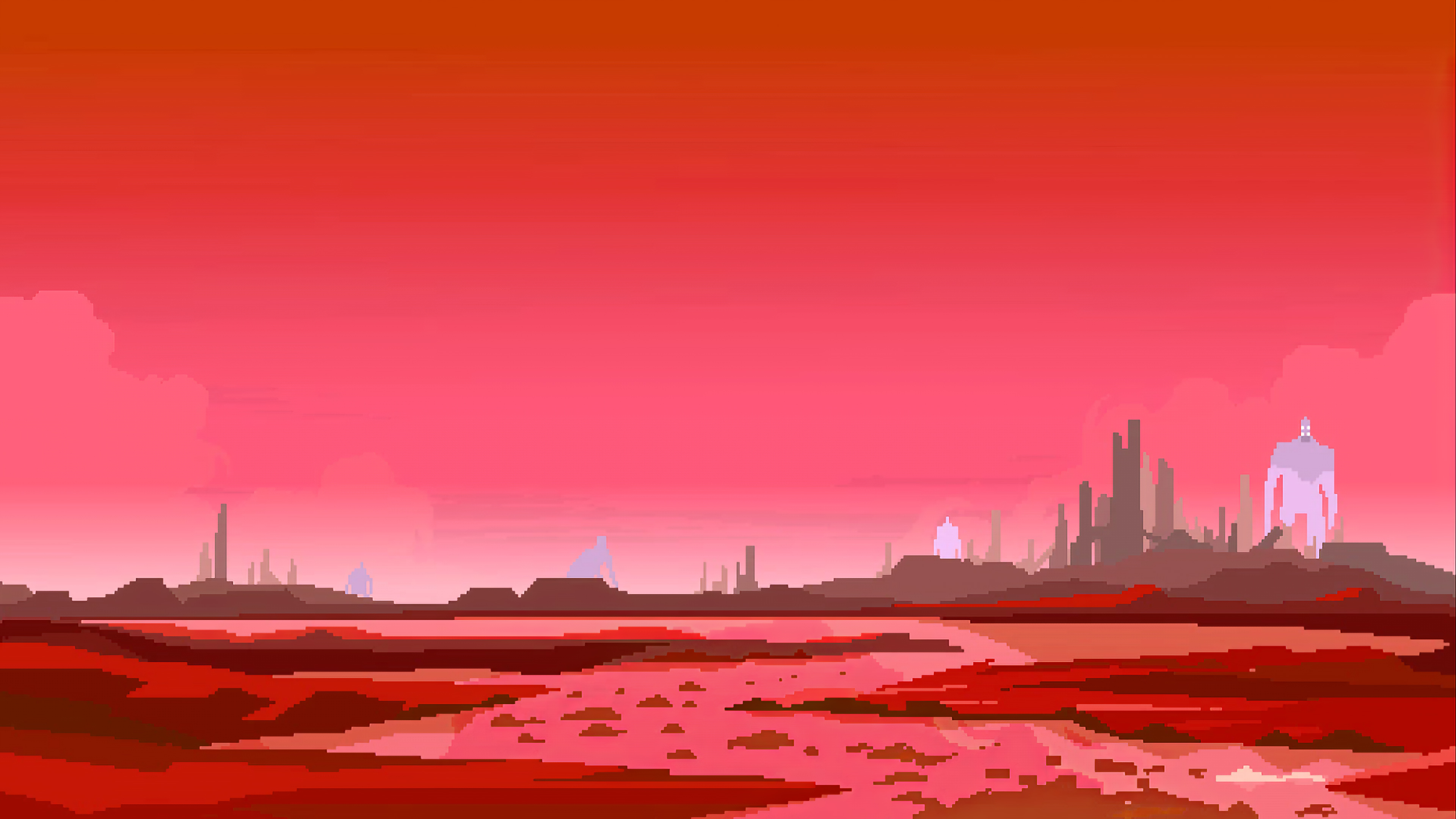 Wallpaper 4k Hyper Light Drifter 8bit