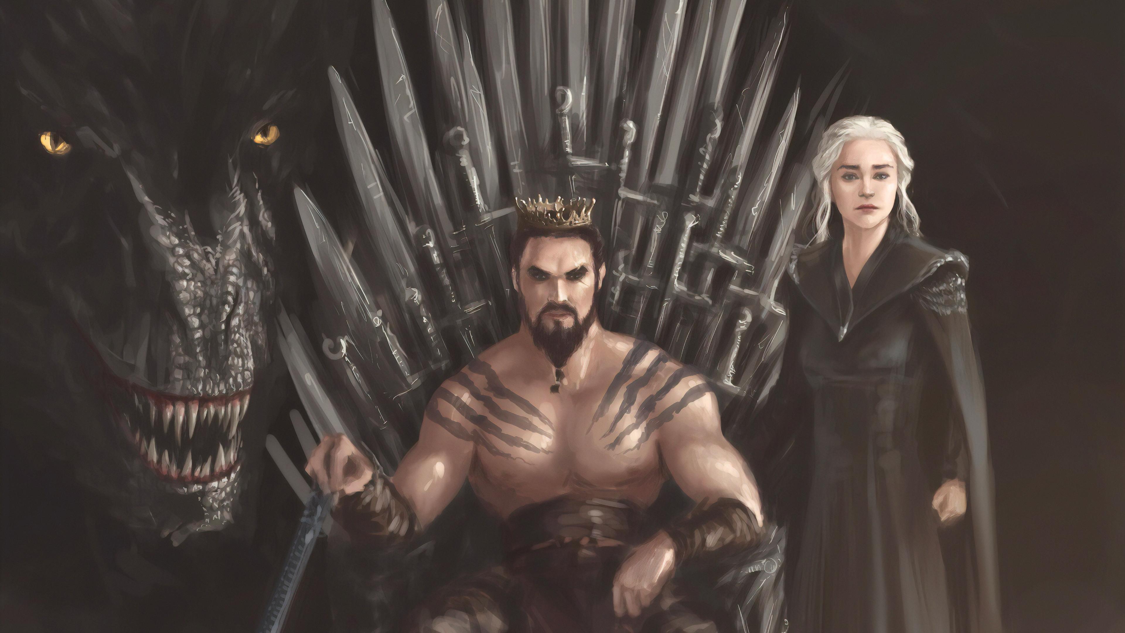 khal drago daenerys targayen art 1578252518 - Khal Drago Daenerys Targayen Art -