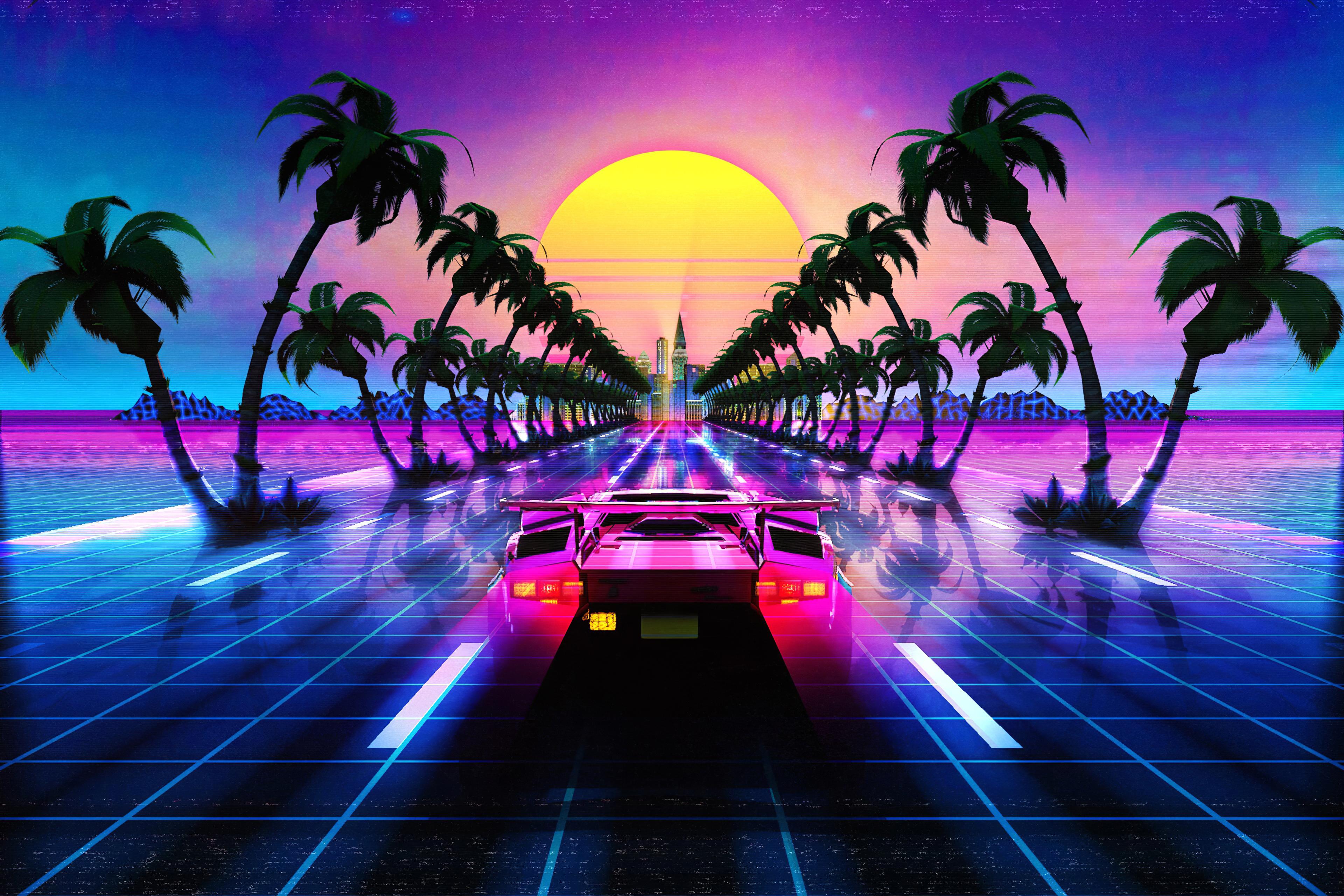 lamborghini countach outrun retro 1578255371 - Lamborghini Countach Outrun Retro -