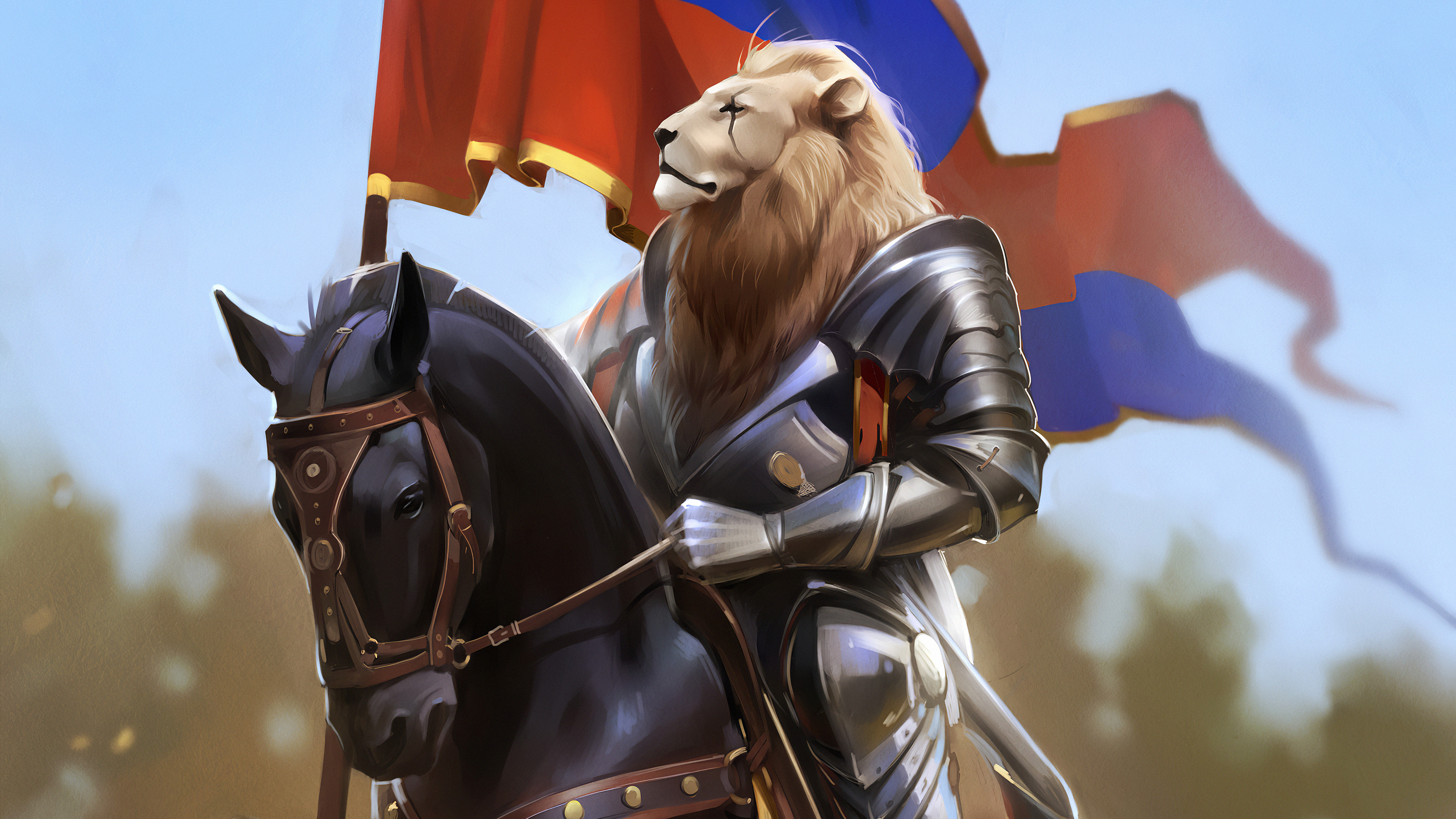 lion king on horse 1578254801 - Lion King On Horse -