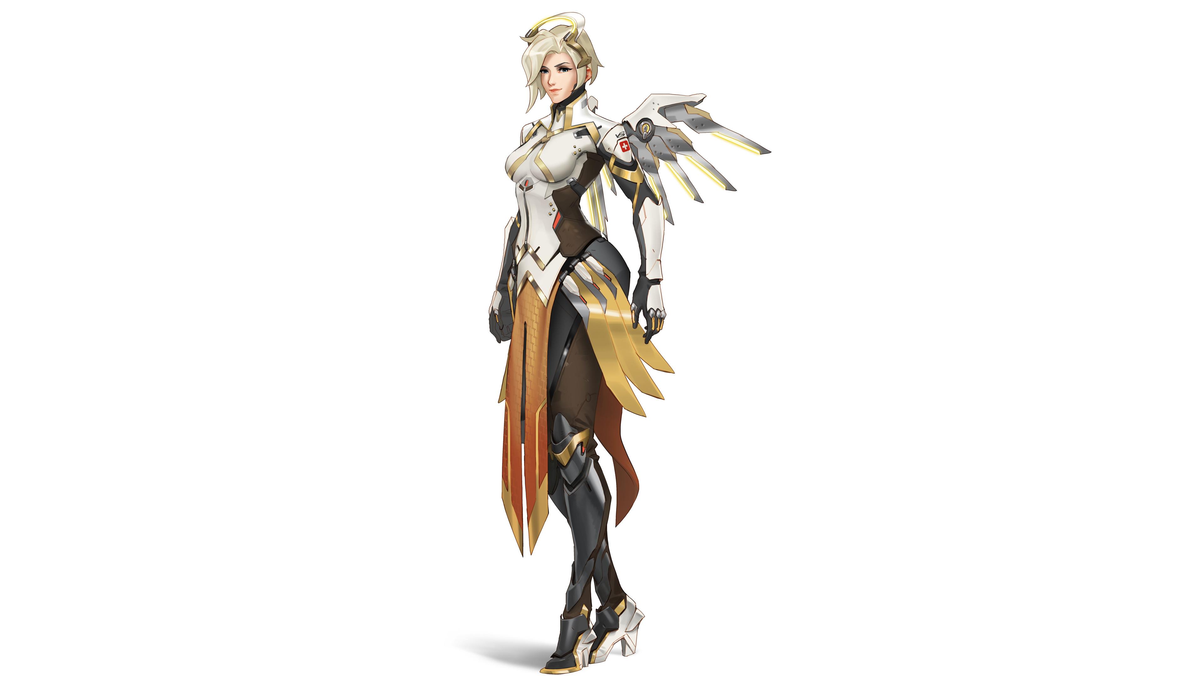 mercy overwatch 2 vg 3840x2160 1 - Mercy Overwatch 2 - Mercy Overwatch 4k wallpaper