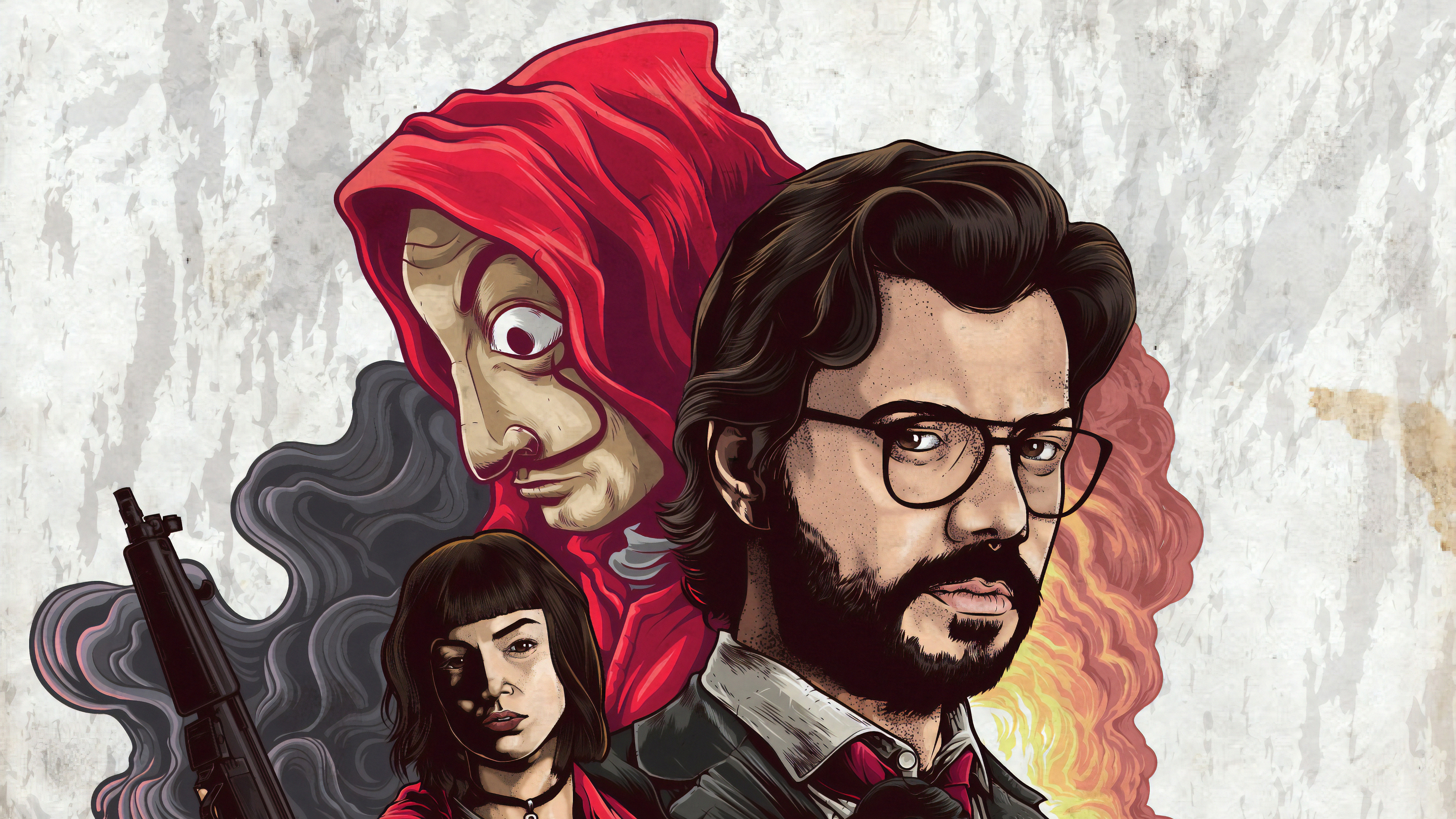 Wallpaper 4k Money Heist 2019 La Casa De Papel 2019 4k Wallpaper