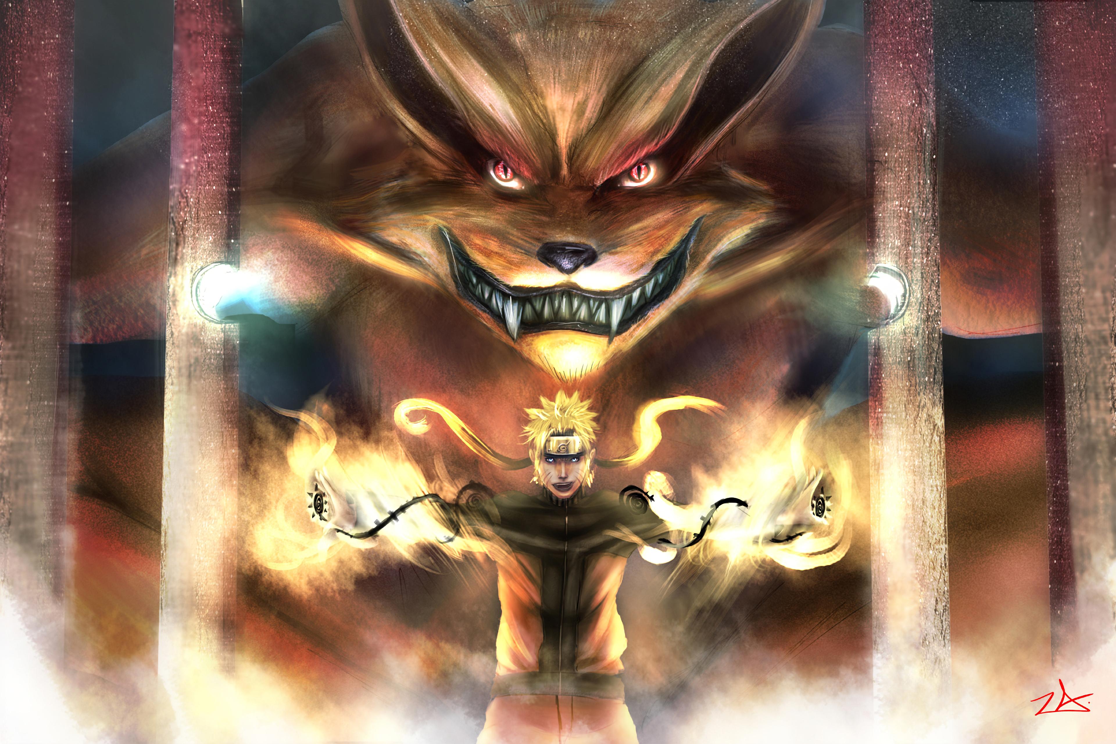 naruto and kurama 1578253816 - Naruto And Kurama -