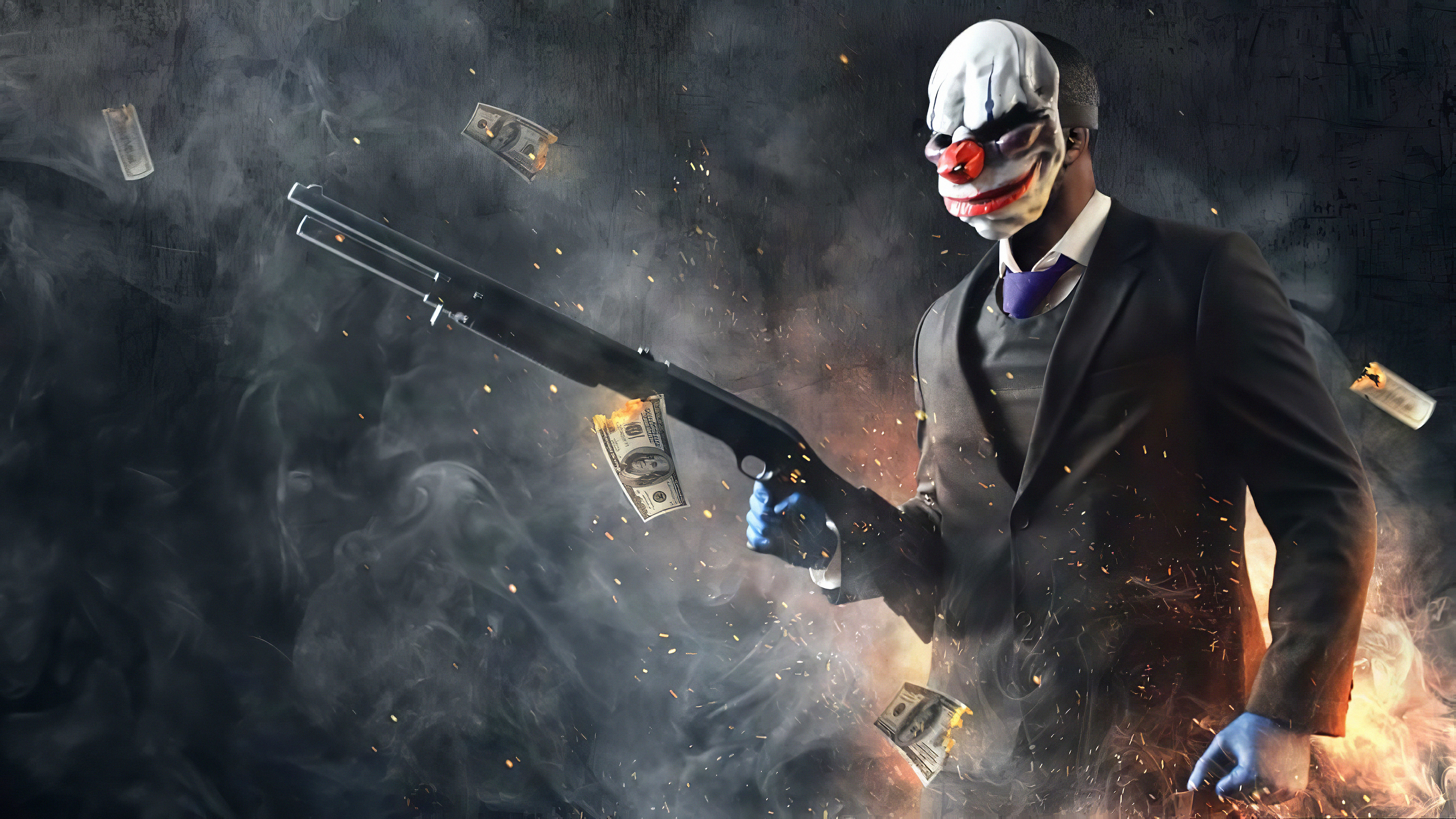 payday 2 2019 4k 13 3840x2160 1 - Payday 2 2019 - Payday 2 game wallpaper 4k, Payday 2 game 4k wallpaper, Payday 2 4k wallpaper
