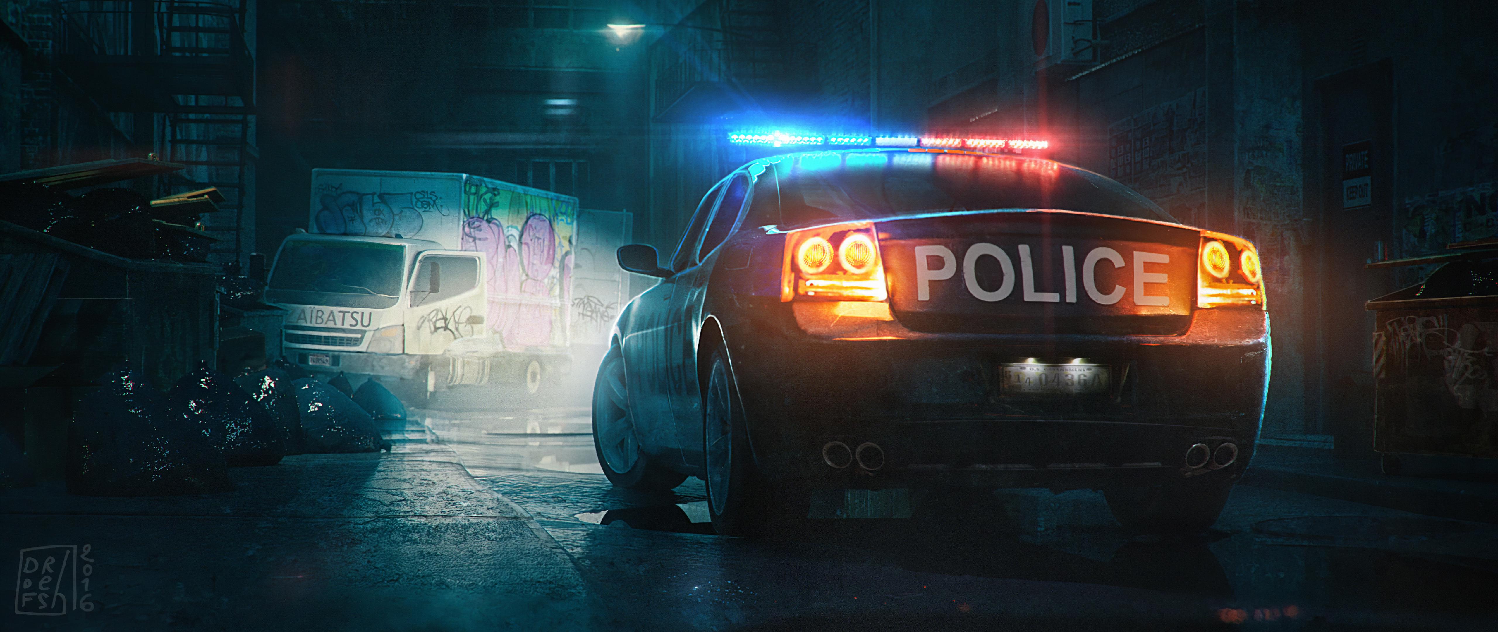 police patrol car digital art 1578255124 - Police Patrol Car Digital Art -
