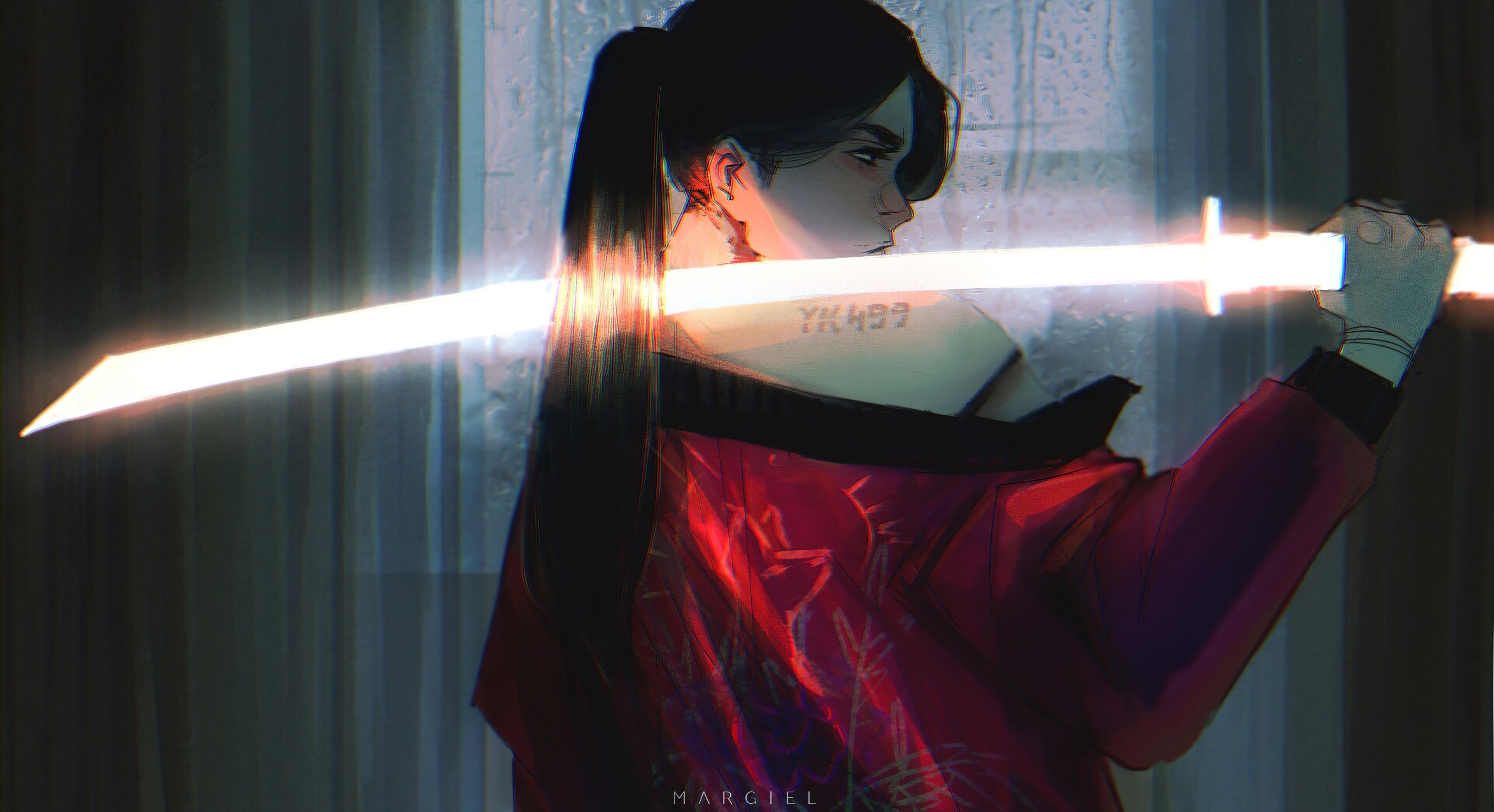 pony tail samurai girl 1578255122 - Pony Tail Samurai Girl -