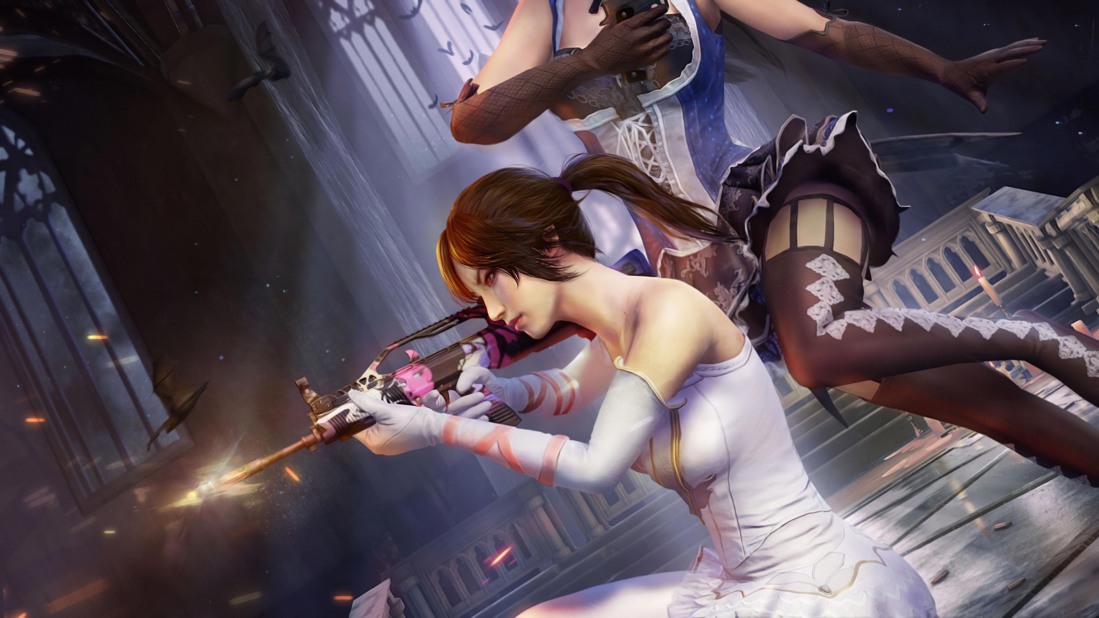 pubg fairy and enchanter 4k 9d 3840x2160 1 - Pubg Enchanter and Fairy - Pubg Enchanter and Fairy 4k wallapper