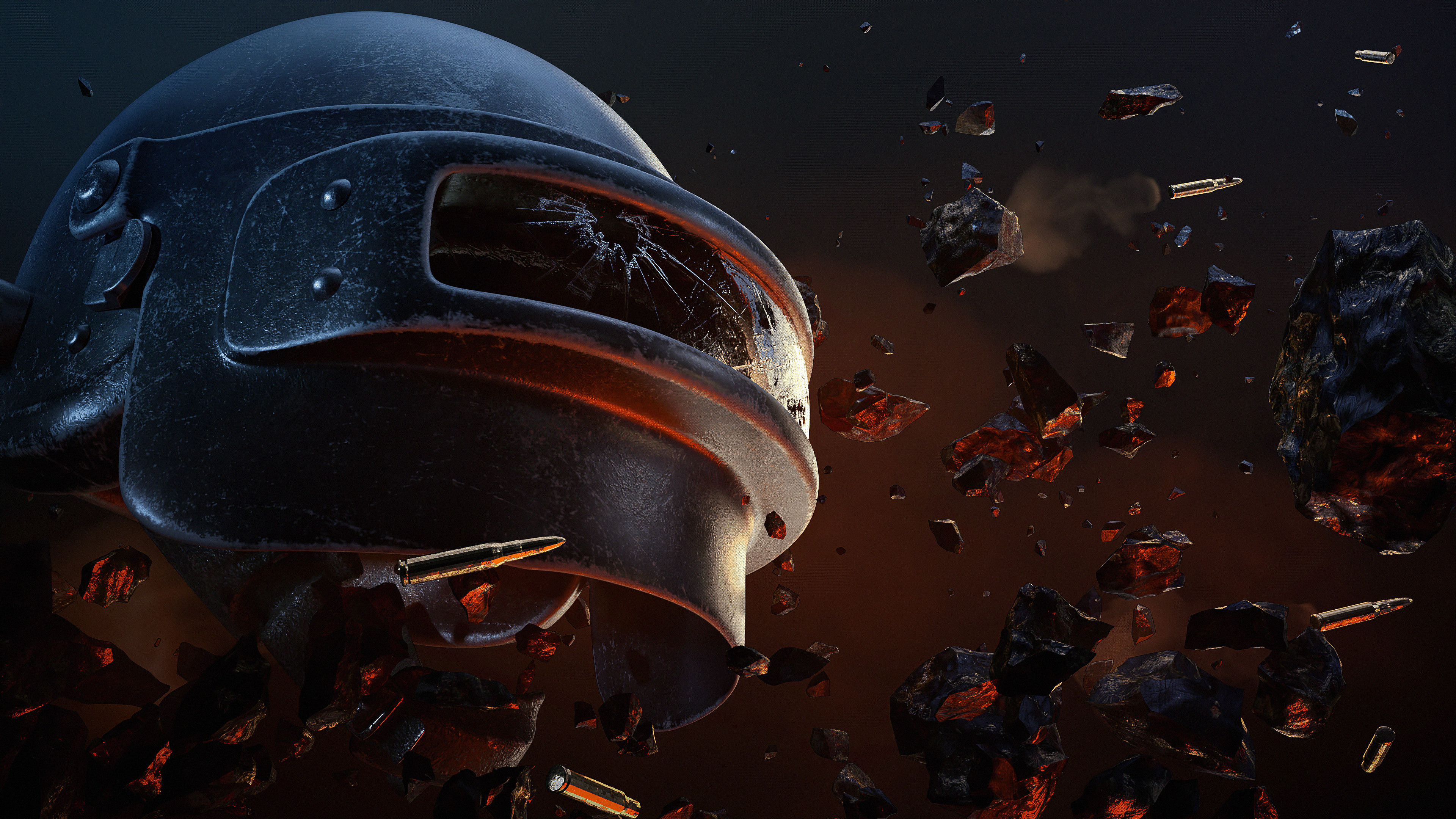 pubg helmet 2019 w7 3840x2160 1 - Pubg Helmet 2020 - pubg 4k wallpapers, pubg 2020 wallpapers, playerunknowns battlegrounds wallpapers