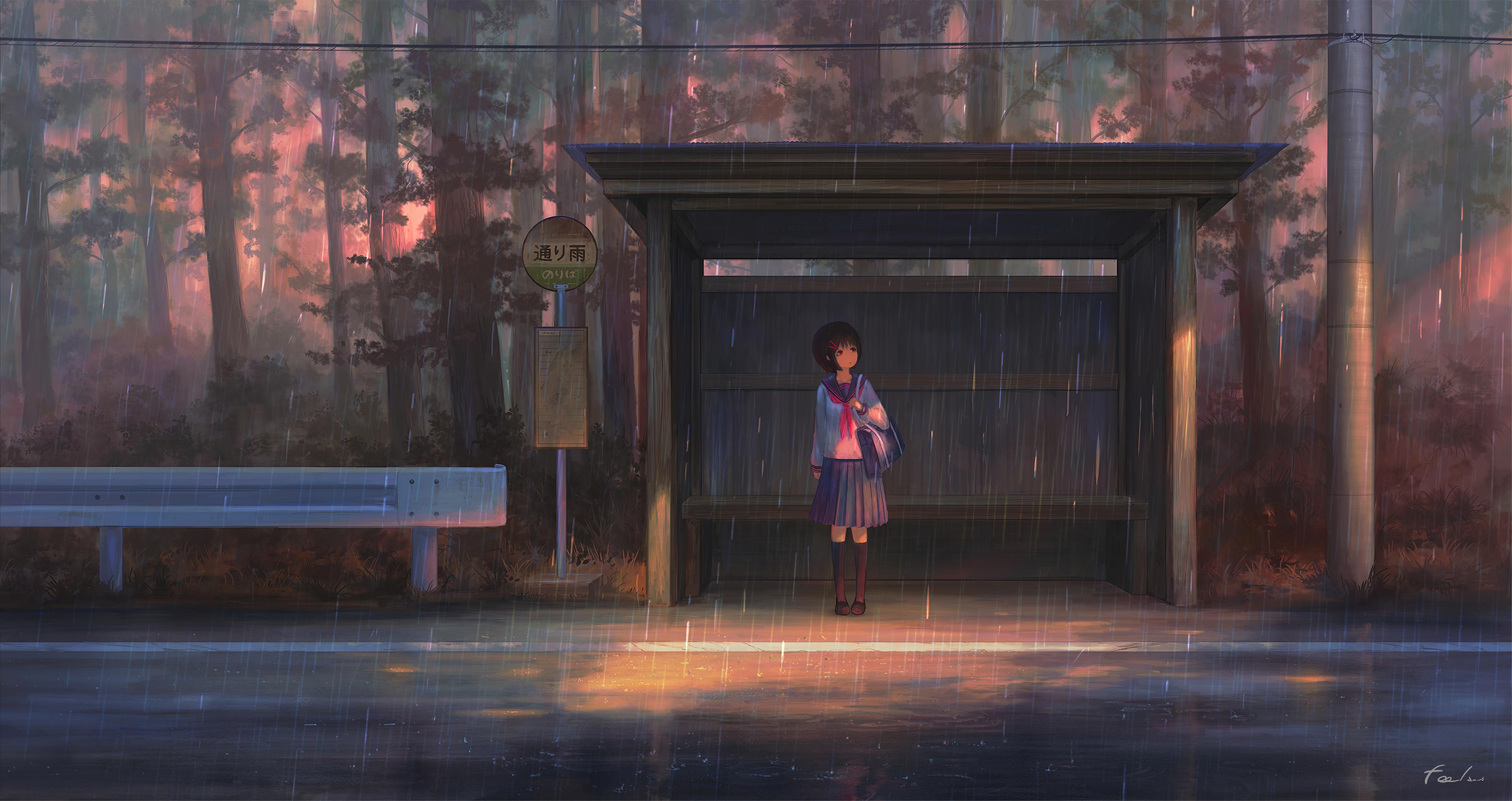 rain anime girl bustand 1578254322 - Rain Anime Girl Bustand -