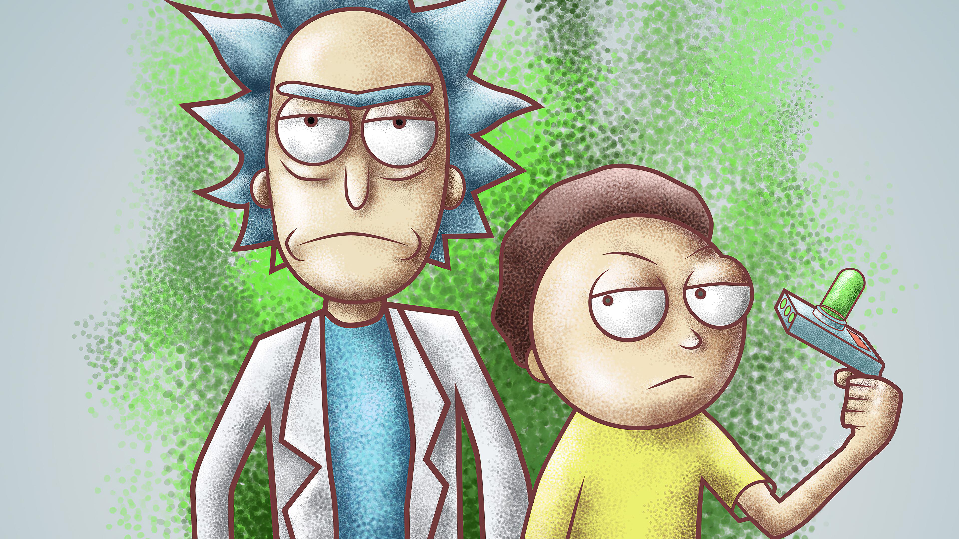 rick and morty gig 1578252540 - Rick And Morty Gig - Rick And Morty Gig 4k wallpaper