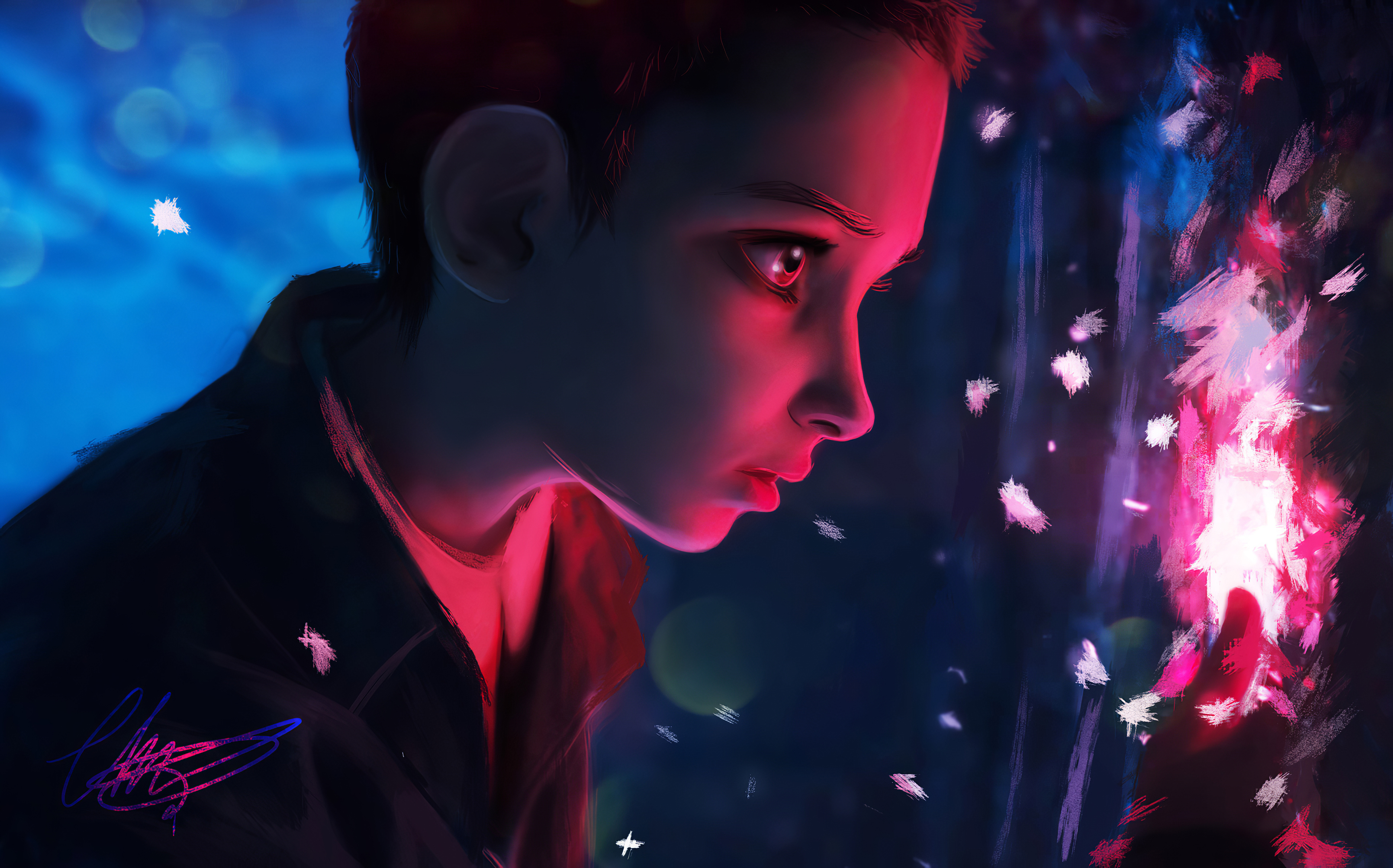 stranger things eleven art 1580056508 - Stranger Things Eleven Art - Stranger Things Eleven Art wallpapers, Stranger Things 4k wallpapers
