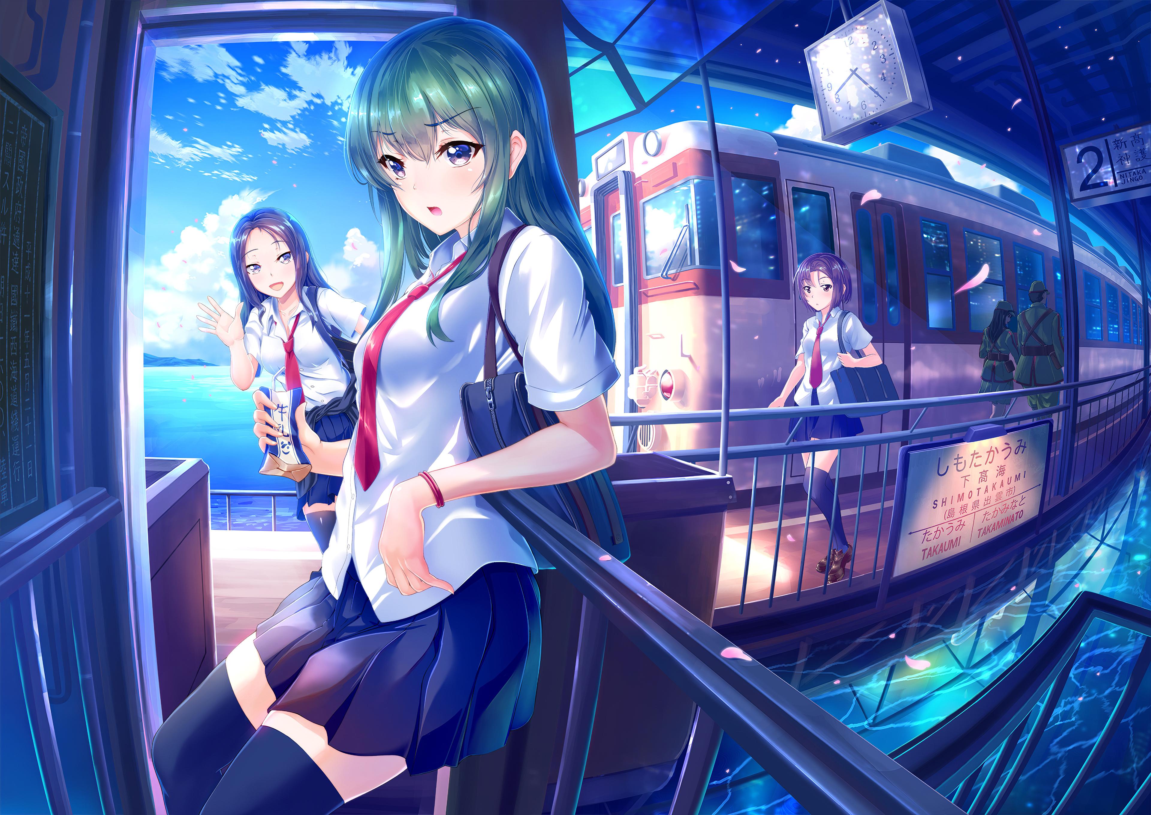 subway girls anime 1578254050 - Subway Girls Anime -