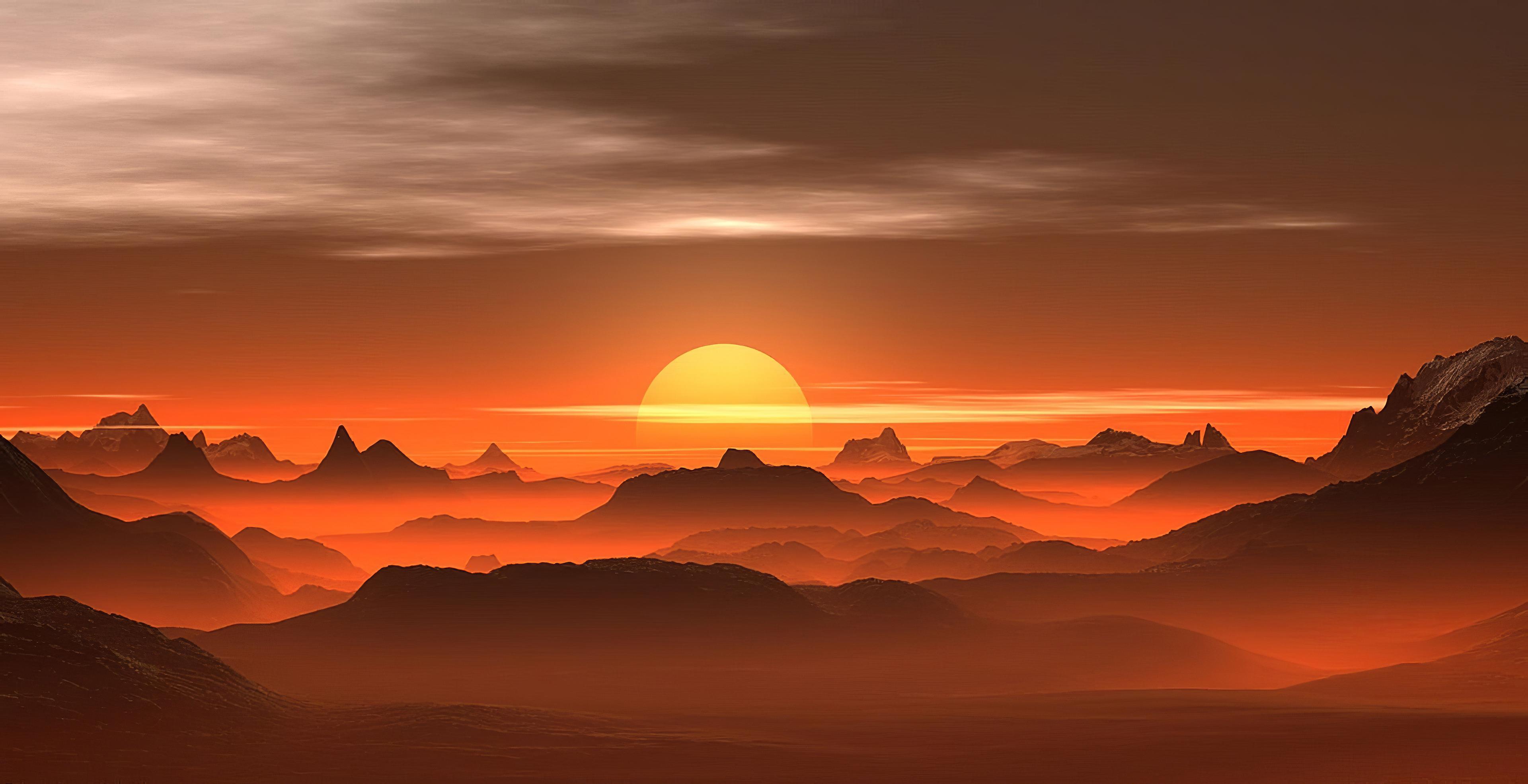 sunset mist desert 1578255470 - Sunset Mist Desert -