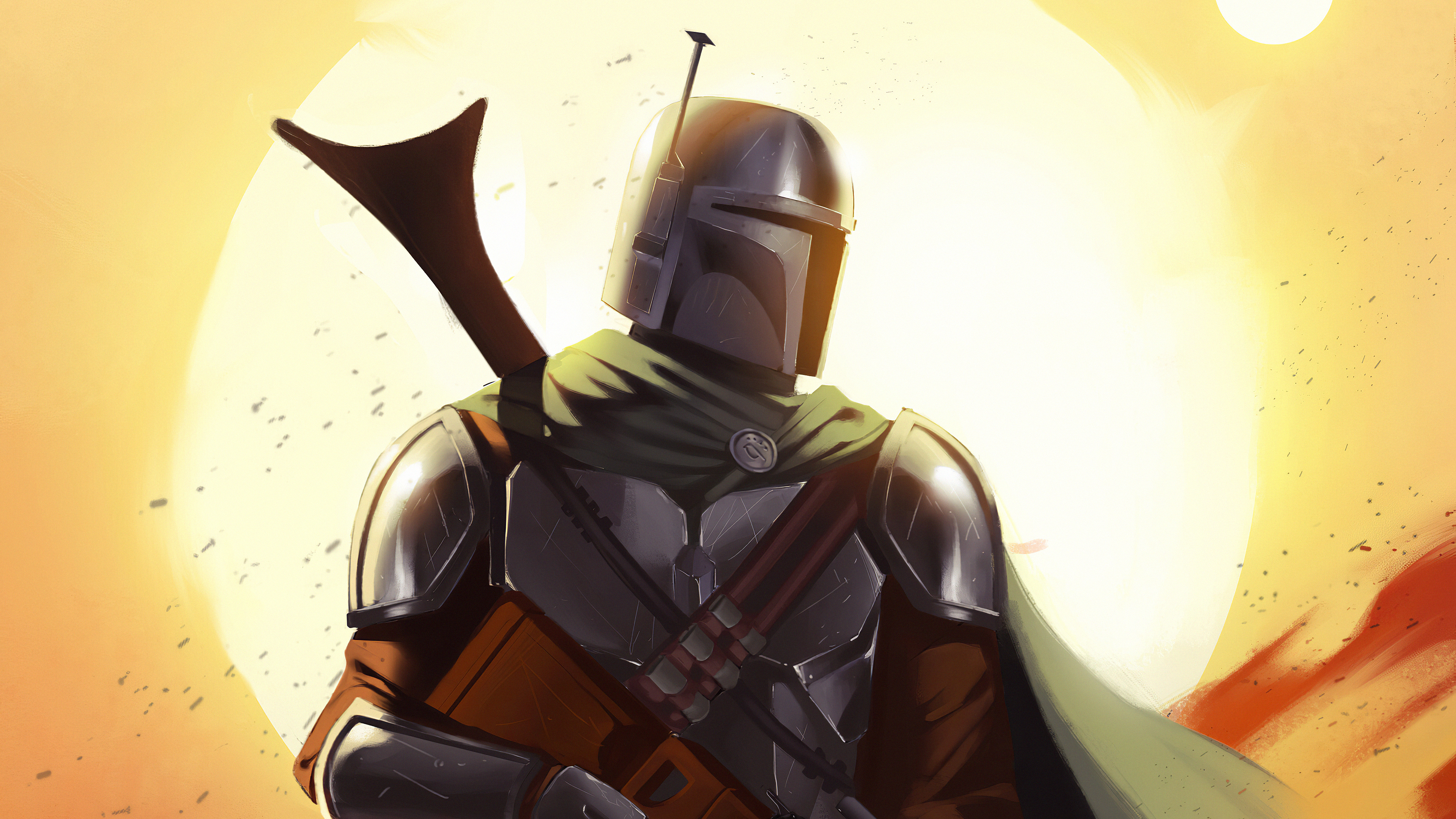 Wallpaper 4k The Mandalorian Art The Mandalorian Art 4k Wallpapers The Mandalorian Art Wallpapers