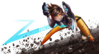 tracer overwatch digital art 4k ho 3840x2160 1 200x110 - Tracer Overwatch Art - tracer wallpaper 4k, Tracer Overwatch Art 4k wallpaper