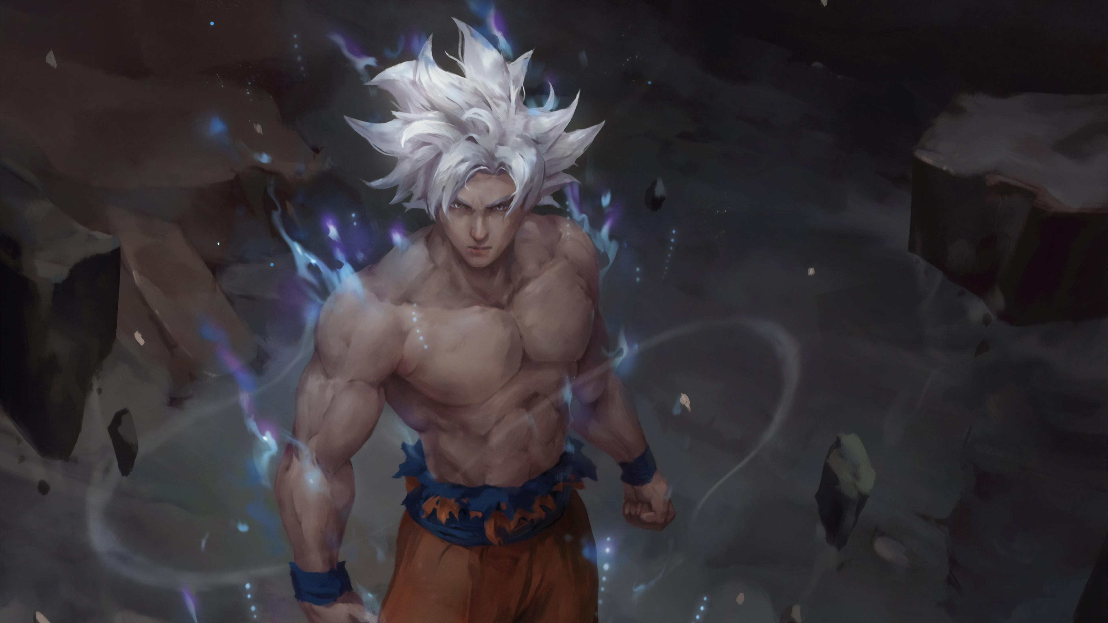 ultra instinct goku art 1578253643 - Ultra Instinct Goku Art -