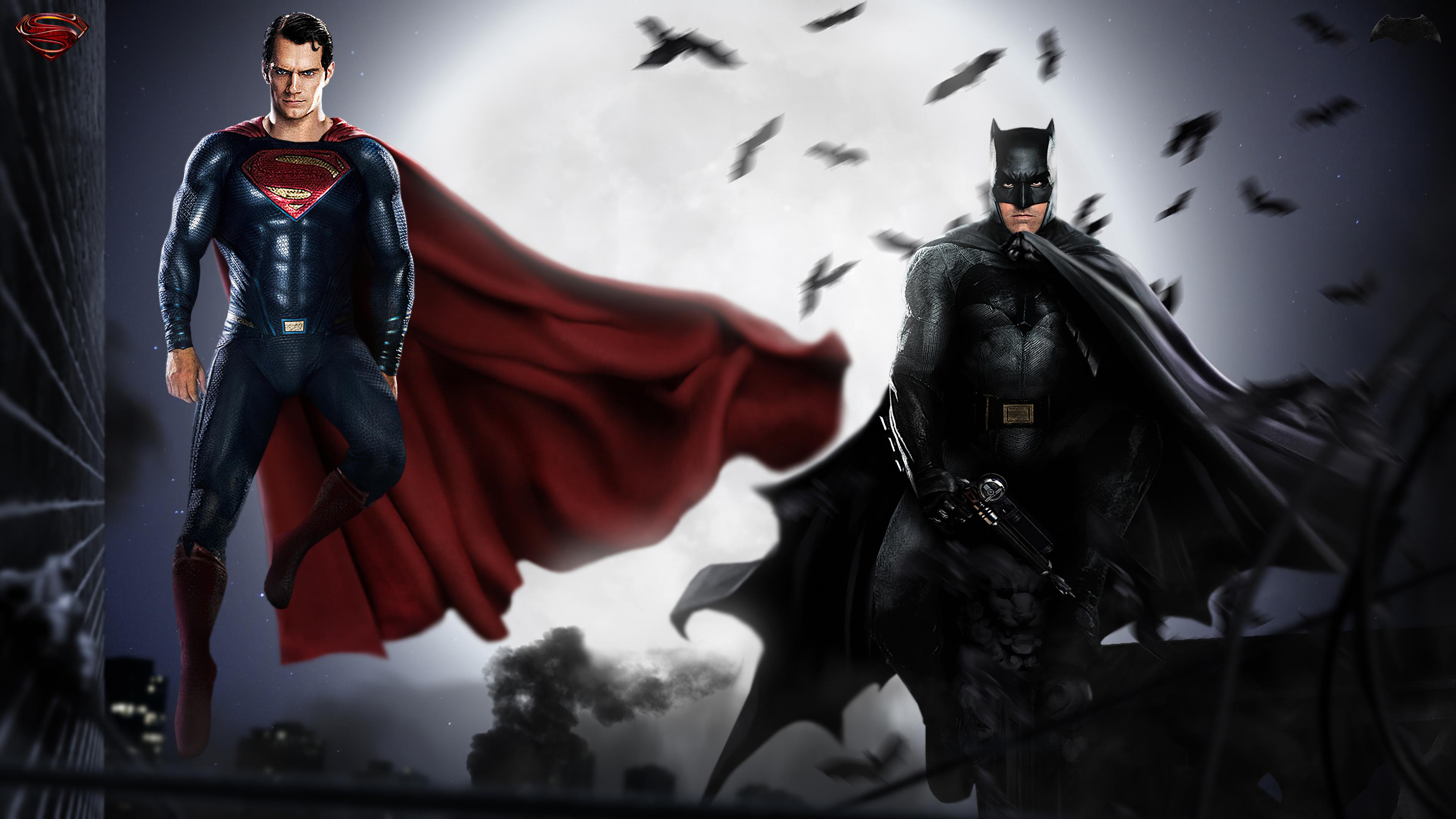 batman superman fan art 1581356291 - Batman SuperMan Fan Art - Batman SuperMan wallpapers, Batman SuperMan phone wallpapers 4k, Batman SuperMan 4k wallpapers