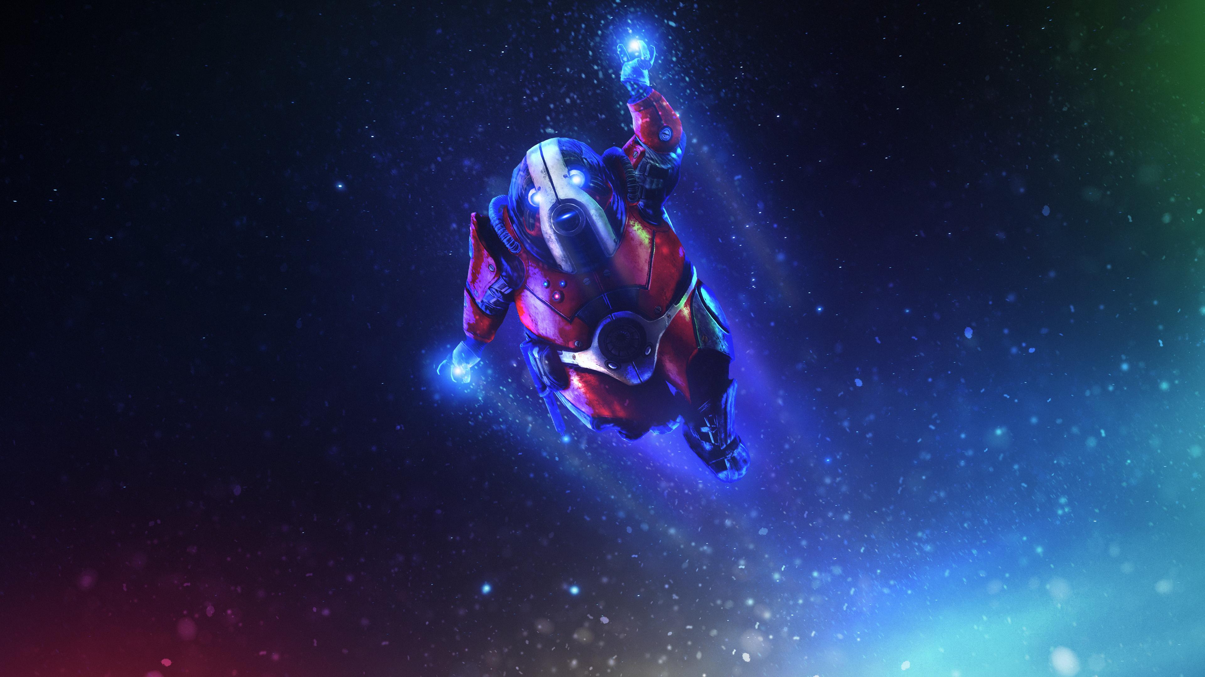 Wallpaper 4k Biotic Winter Mass Effect Andromeda Biotic Winter